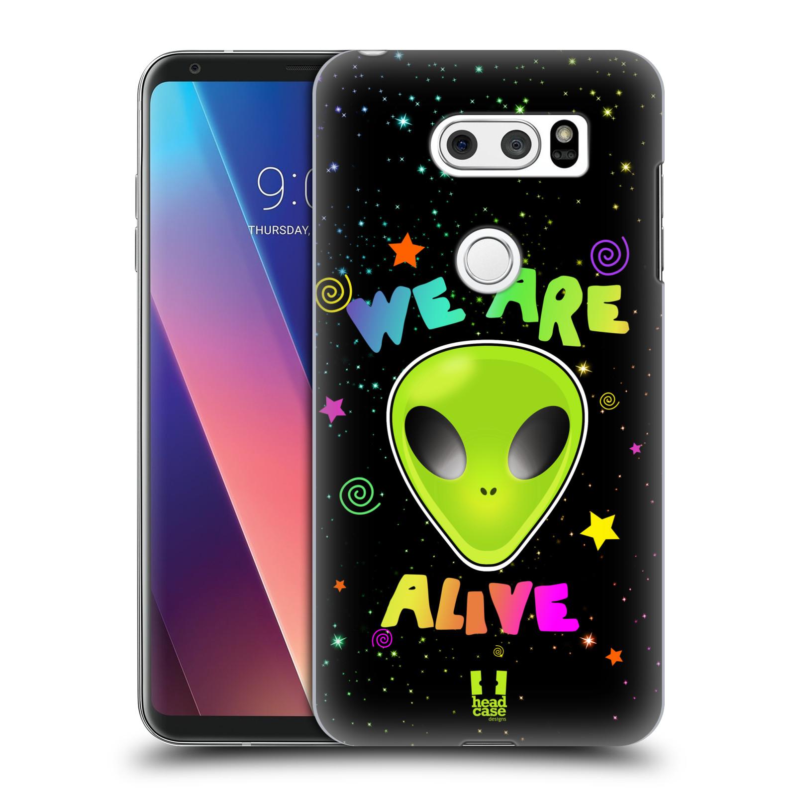Plastové pouzdro na mobil LG V30 - Head Case - ALIENS ALIVE