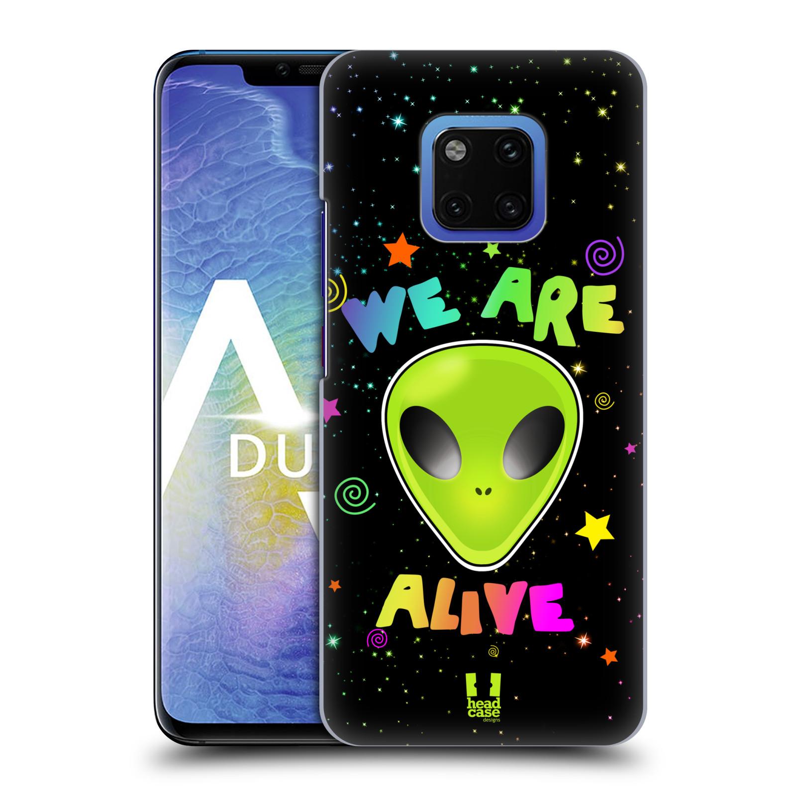 Plastové pouzdro na mobil Huawei Mate 20 Pro - Head Case - ALIENS ALIVE