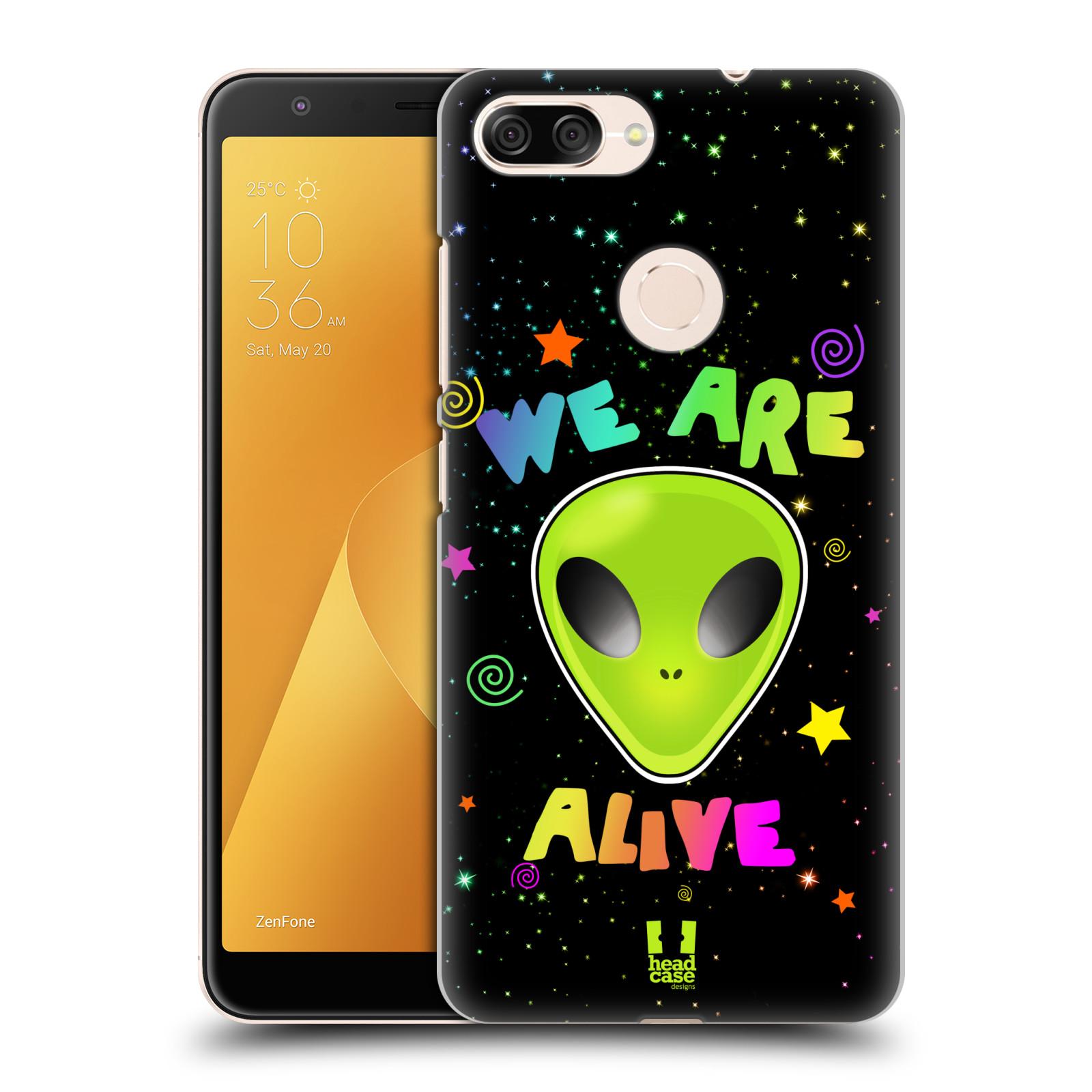 Plastové pouzdro na mobil Asus ZenFone Max Plus (M1) - Head Case - ALIENS ALIVE