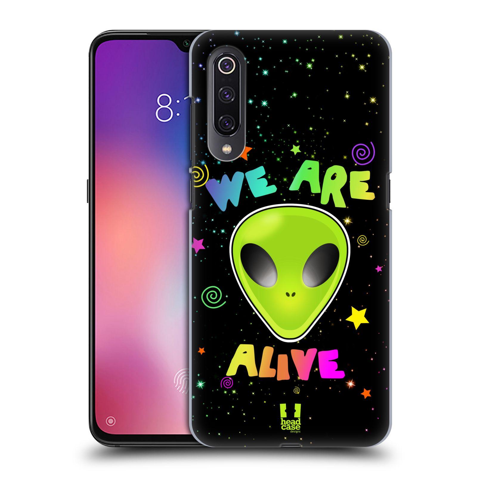 Plastové pouzdro na mobil Xiaomi Mi 9 - Head Case - ALIENS ALIVE