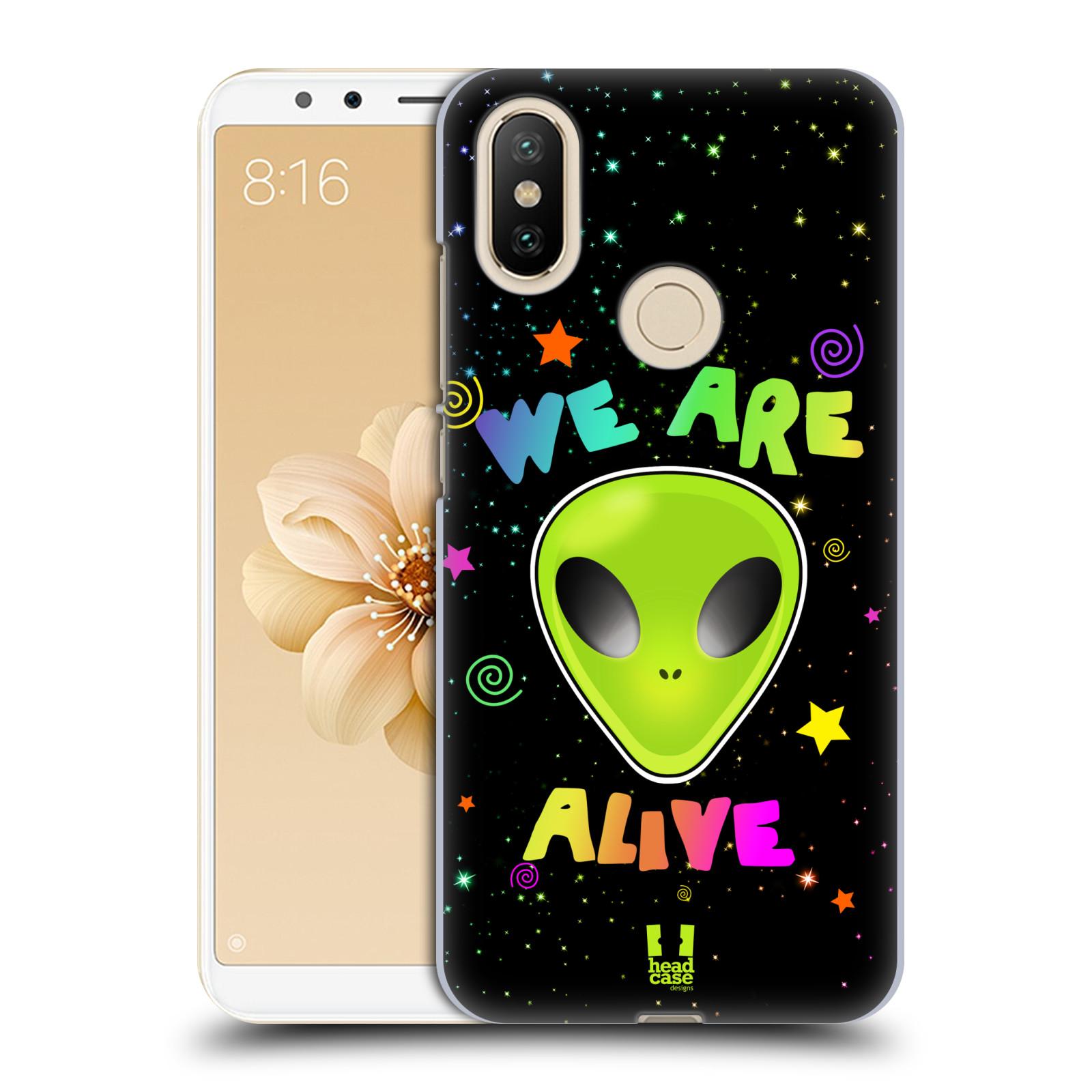 Plastové pouzdro na mobil Xiaomi Mi A2 - Head Case - ALIENS ALIVE
