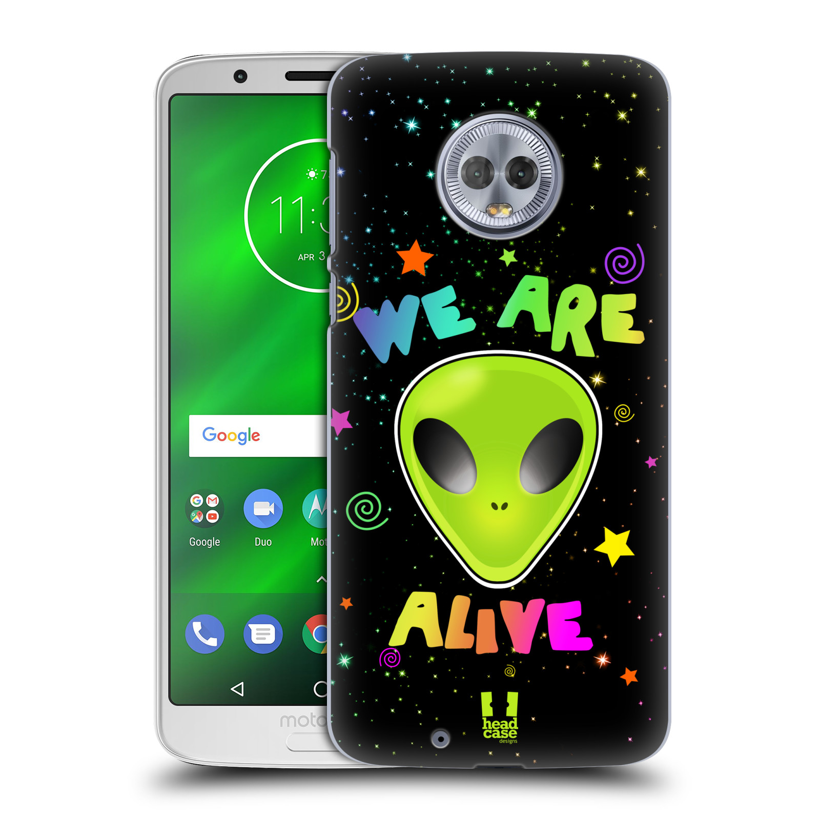 Plastové pouzdro na mobil Motorola Moto G6 - Head Case - ALIENS ALIVE
