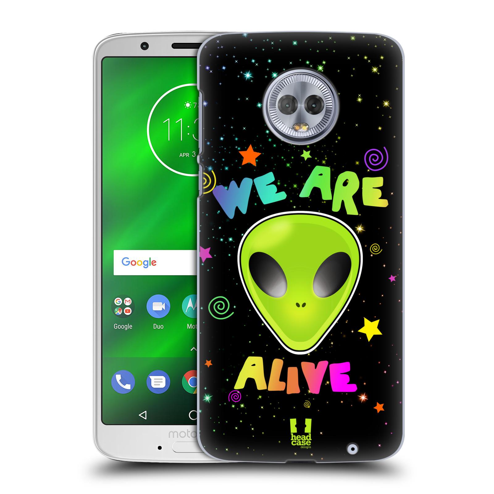 Plastové pouzdro na mobil Motorola Moto G6 Plus - Head Case - ALIENS ALIVE