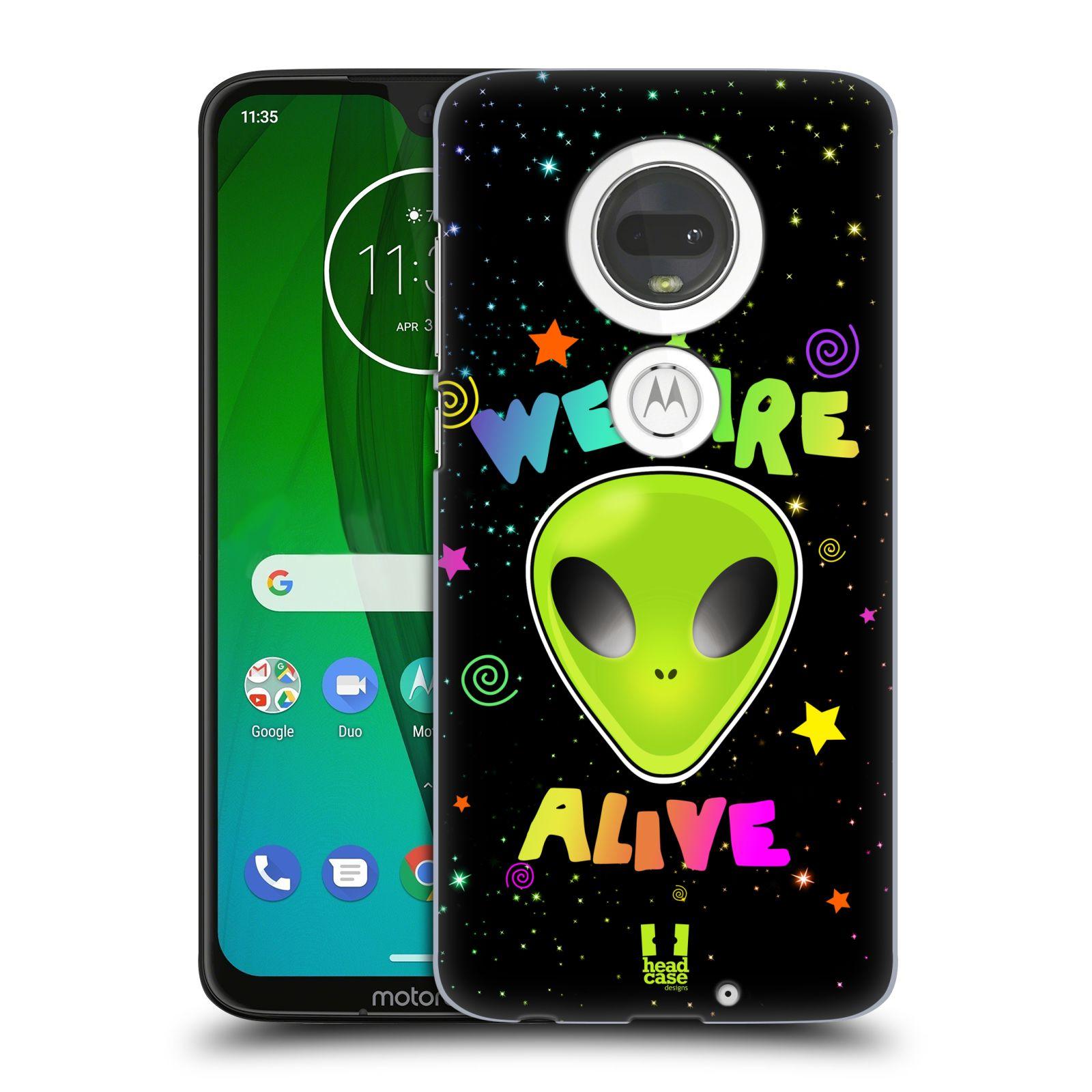 Plastové pouzdro na mobil Motorola Moto G7 - Head Case - ALIENS ALIVE