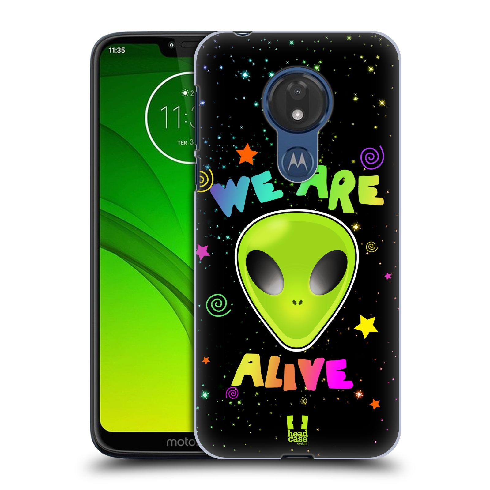 Plastové pouzdro na mobil Motorola Moto G7 Power - Head Case - ALIENS ALIVE