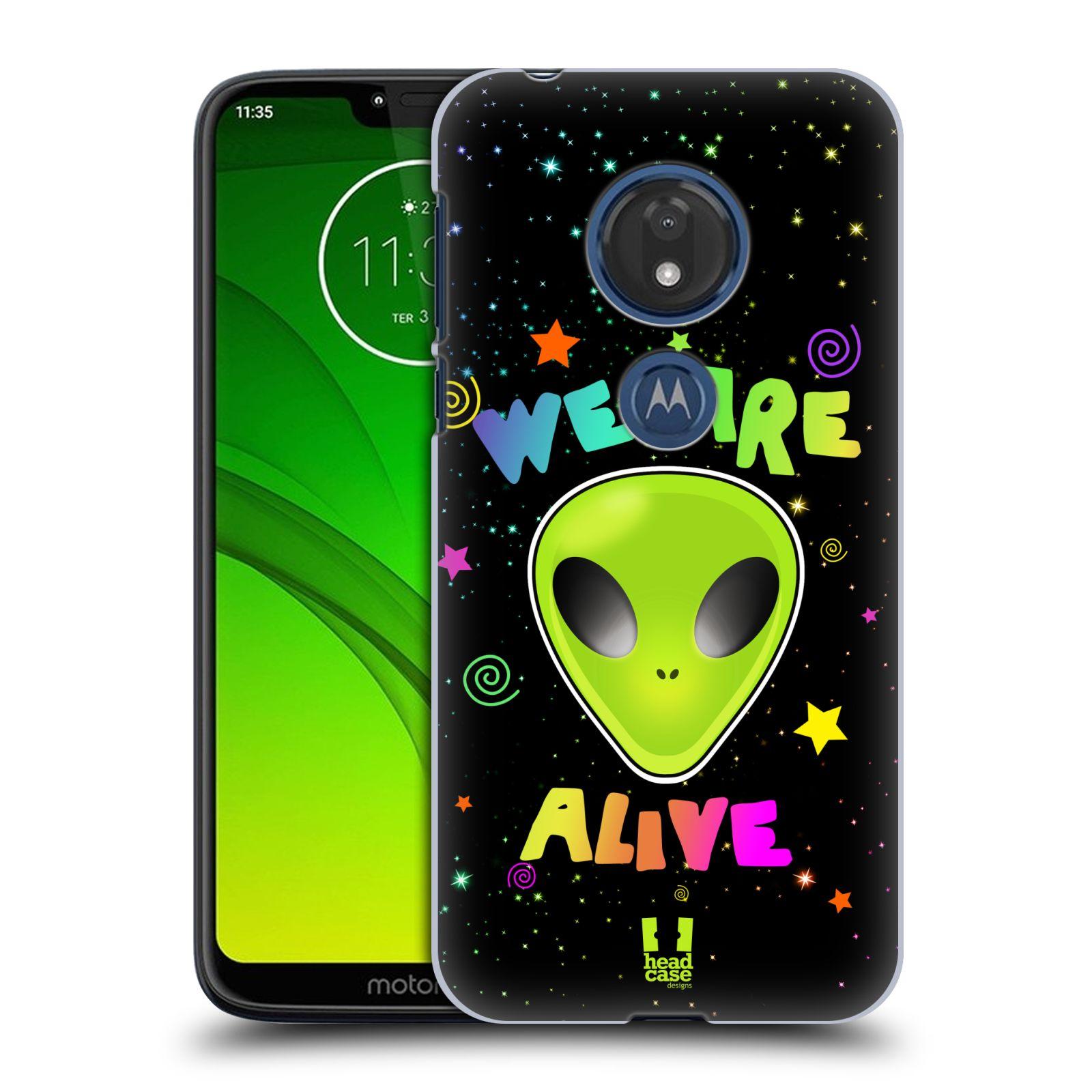 Plastové pouzdro na mobil Motorola Moto G7 Play - Head Case - ALIENS ALIVE