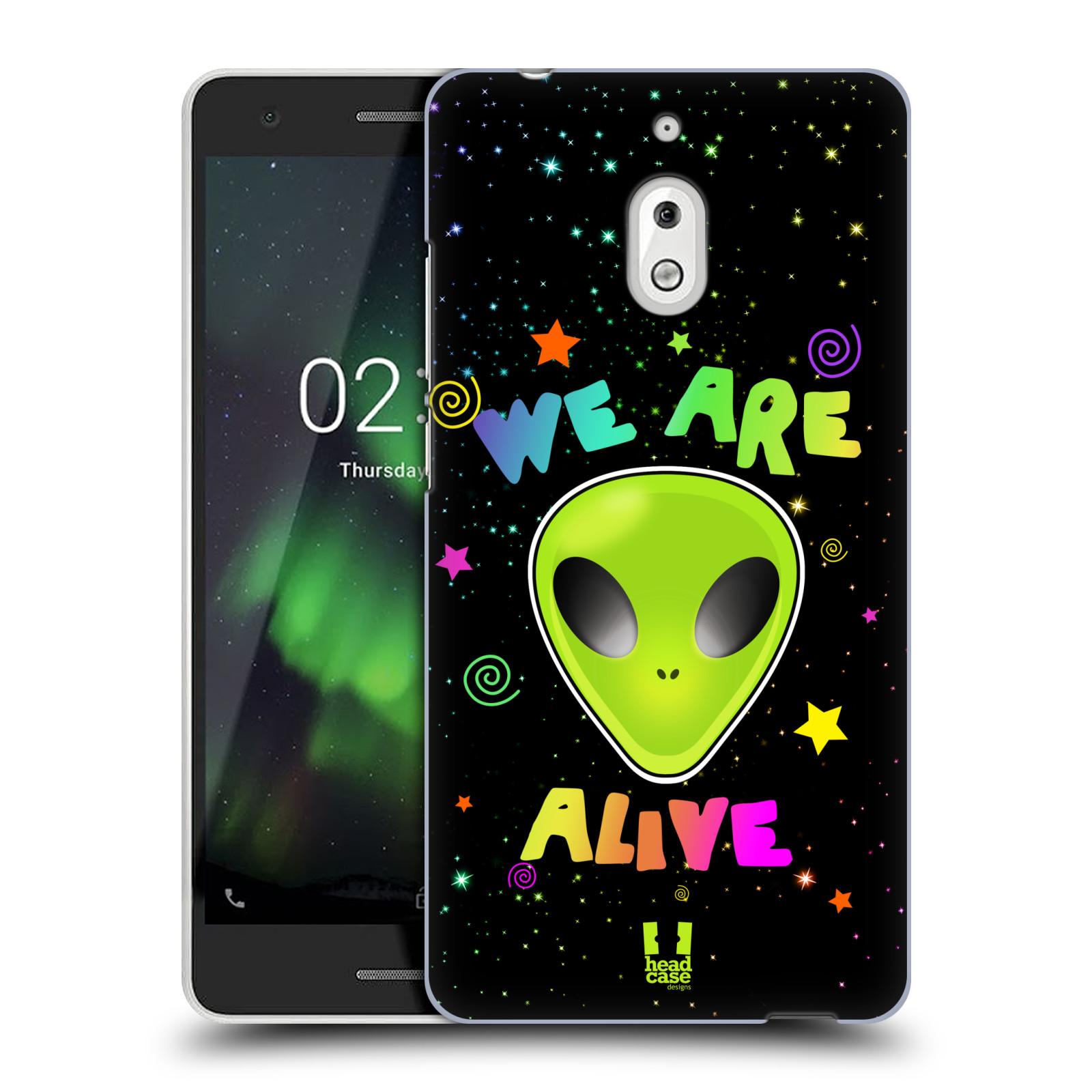 Plastové pouzdro na mobil Nokia 2.1 - Head Case - ALIENS ALIVE