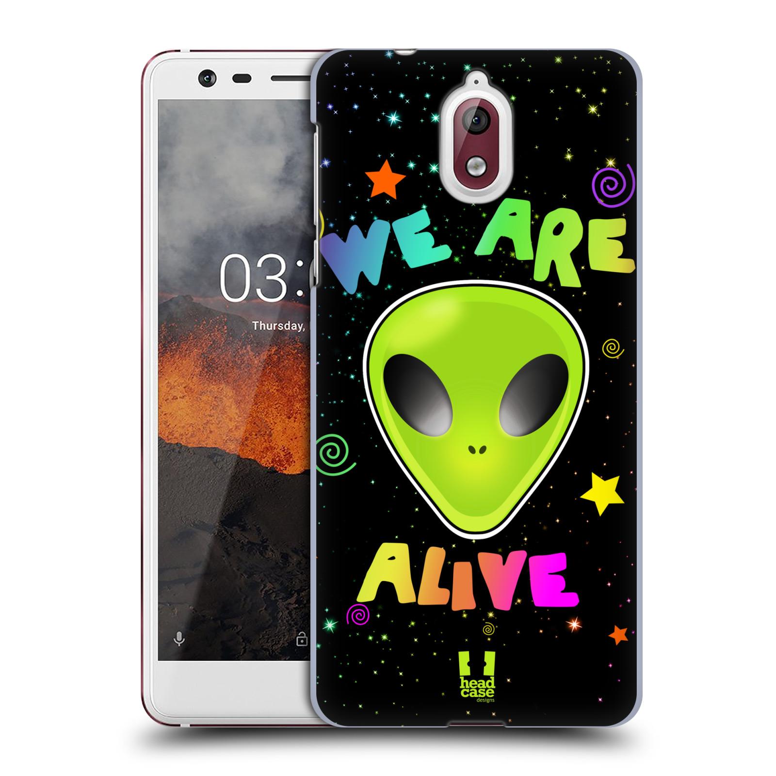 Plastové pouzdro na mobil Nokia 3.1 - Head Case - ALIENS ALIVE