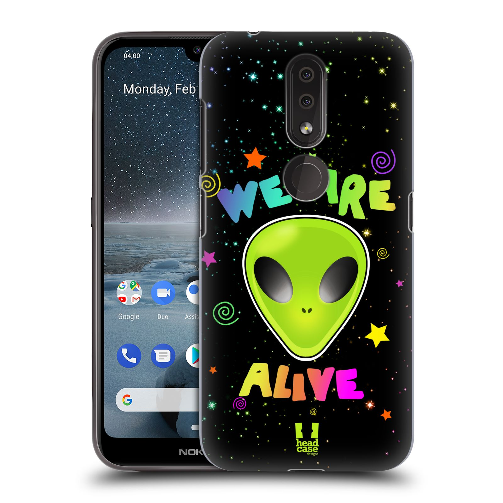 Plastové pouzdro na mobil Nokia 4.2 - Head Case - ALIENS ALIVE