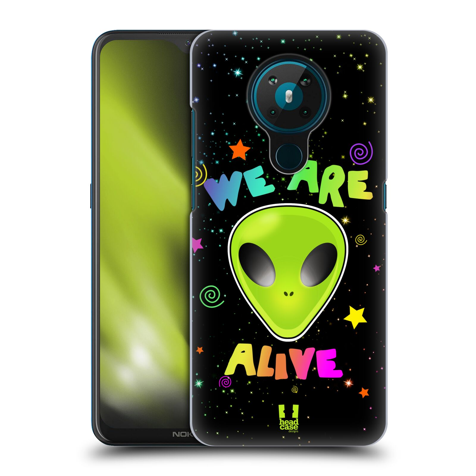 Plastové pouzdro na mobil Nokia 5.3 - Head Case - ALIENS ALIVE