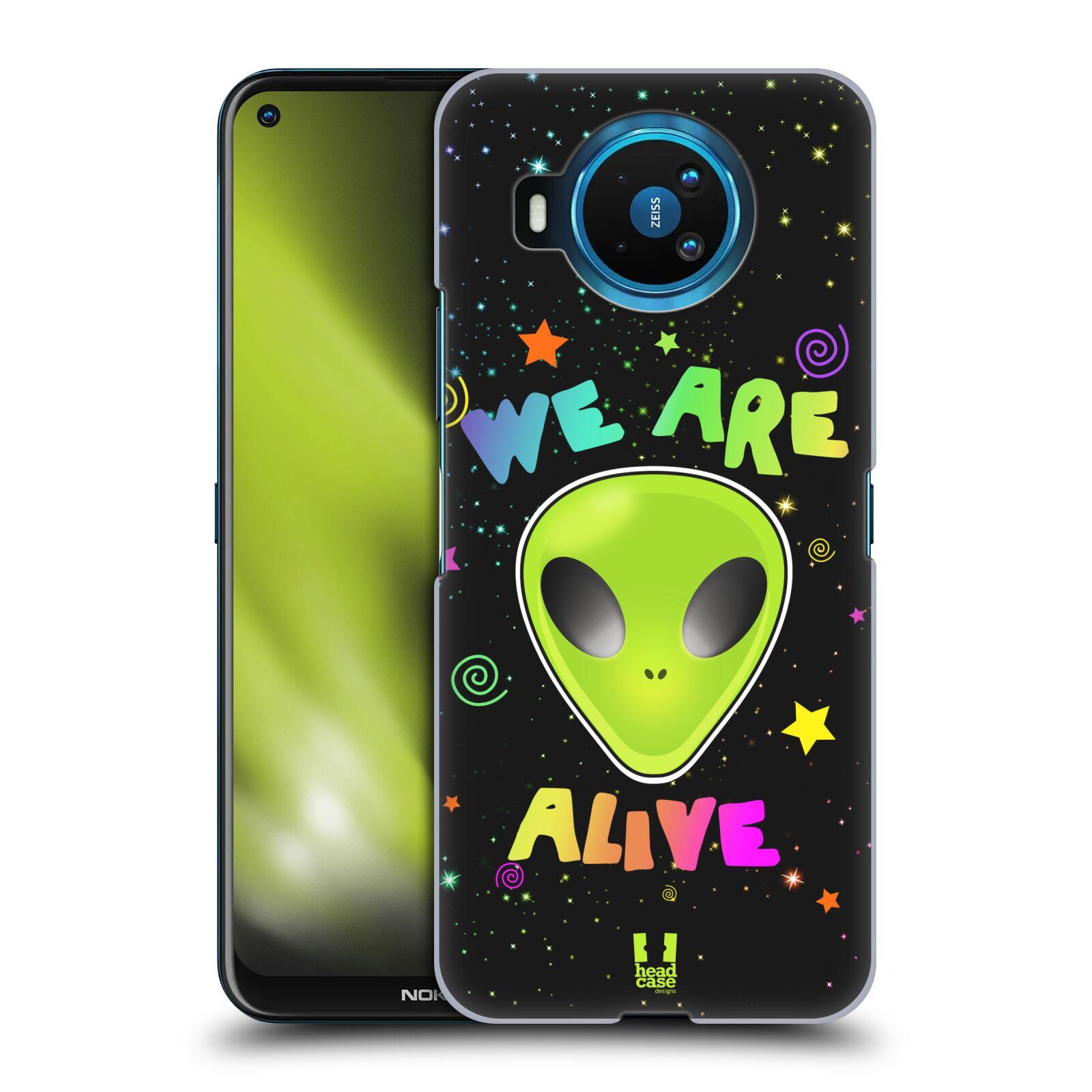 Plastové pouzdro na mobil Nokia 8.3 5G - Head Case - ALIENS ALIVE