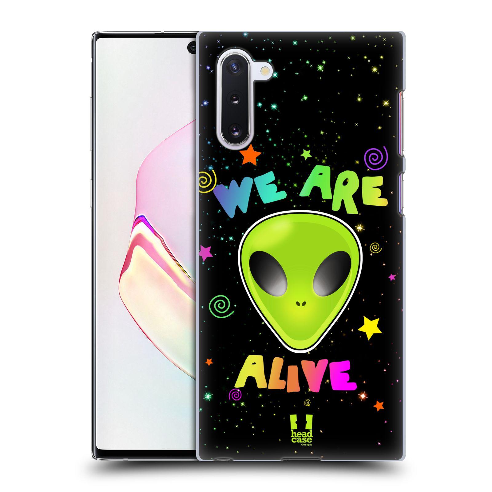 Plastové pouzdro na mobil Samsung Galaxy Note 10 - Head Case - ALIENS ALIVE