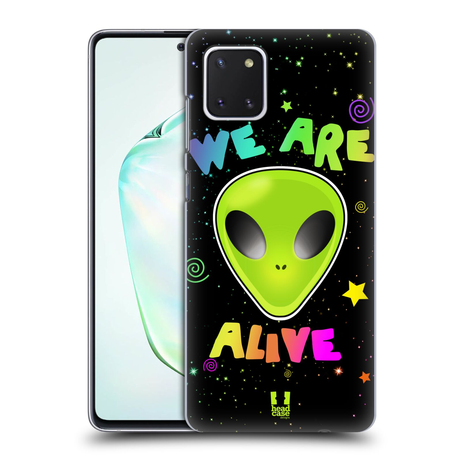 Plastové pouzdro na mobil Samsung Galaxy Note 10 Lite - Head Case - ALIENS ALIVE