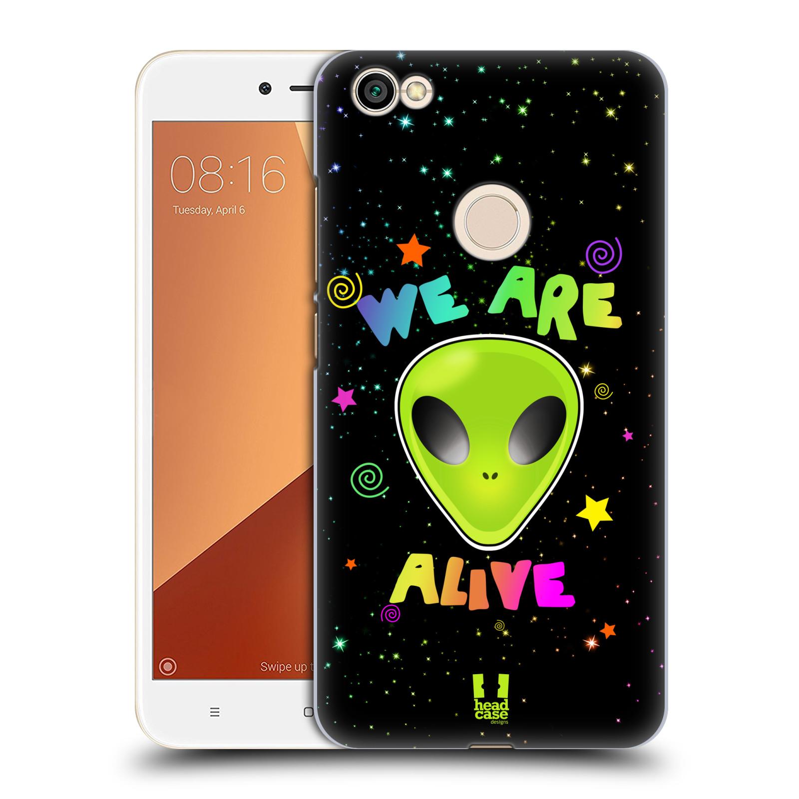Plastové pouzdro na mobil Xiaomi Redmi Note 5A Prime - Head Case - ALIENS ALIVE