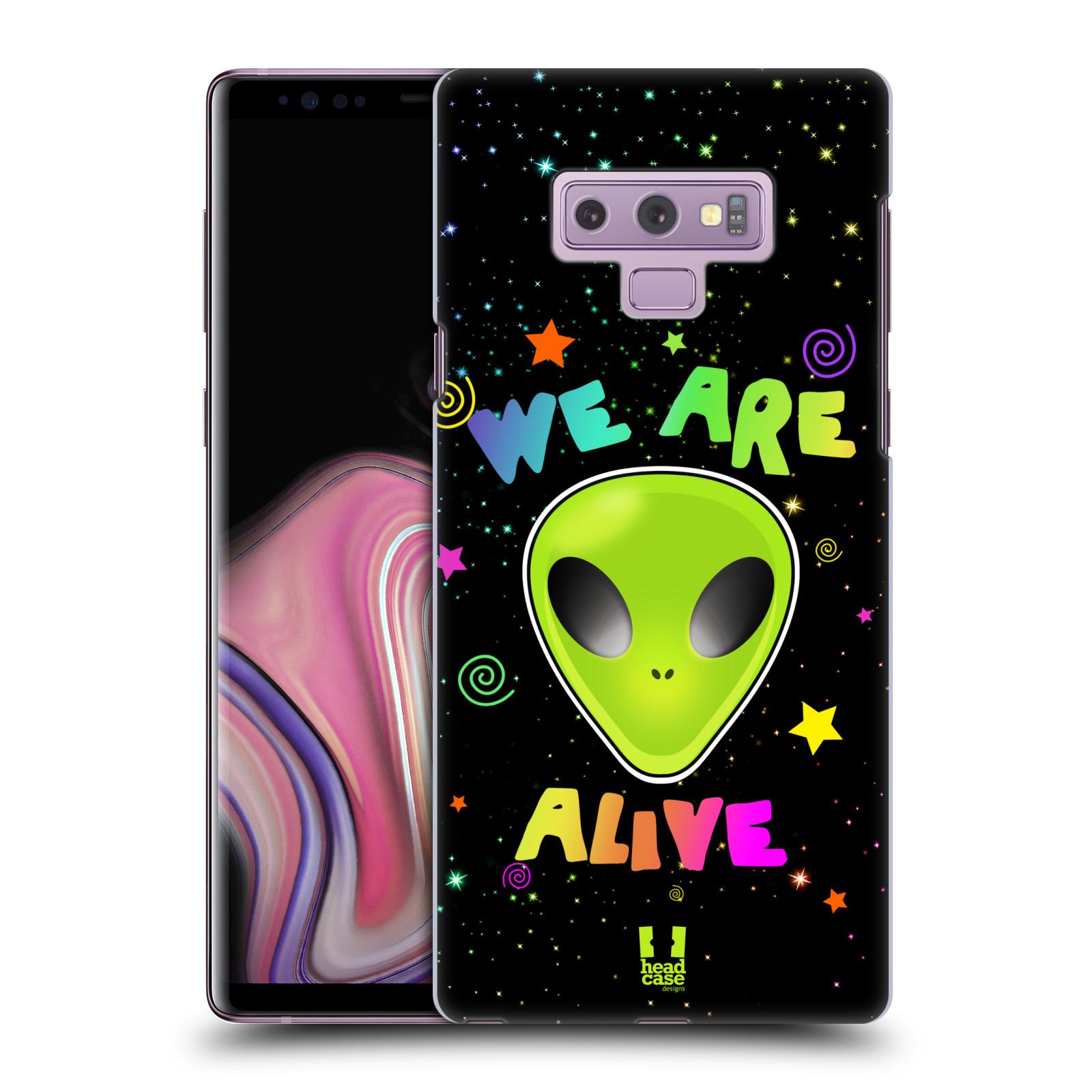 Plastové pouzdro na mobil Samsung Galaxy Note 9 - Head Case - ALIENS ALIVE