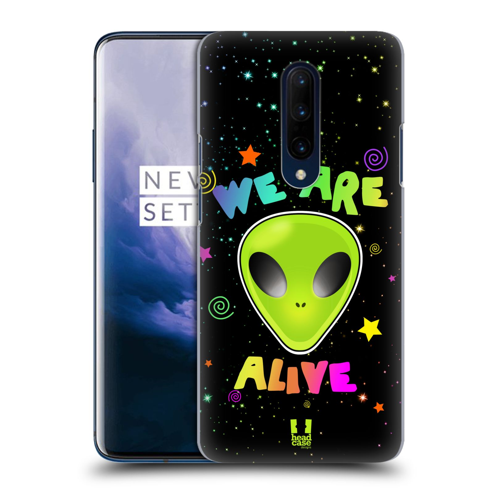 Plastové pouzdro na mobil OnePlus 7 Pro - Head Case - ALIENS ALIVE