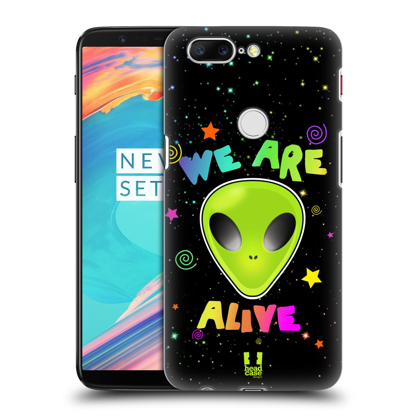 Plastové pouzdro na mobil OnePlus 5T - Head Case - ALIENS ALIVE