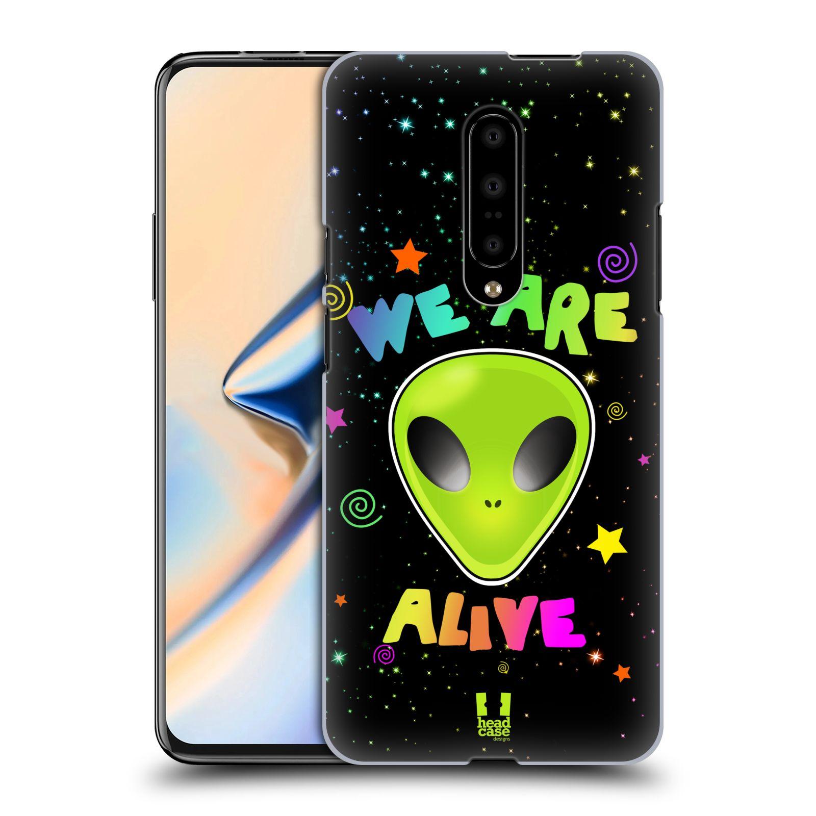 Plastové pouzdro na mobil OnePlus 7 - Head Case - ALIENS ALIVE