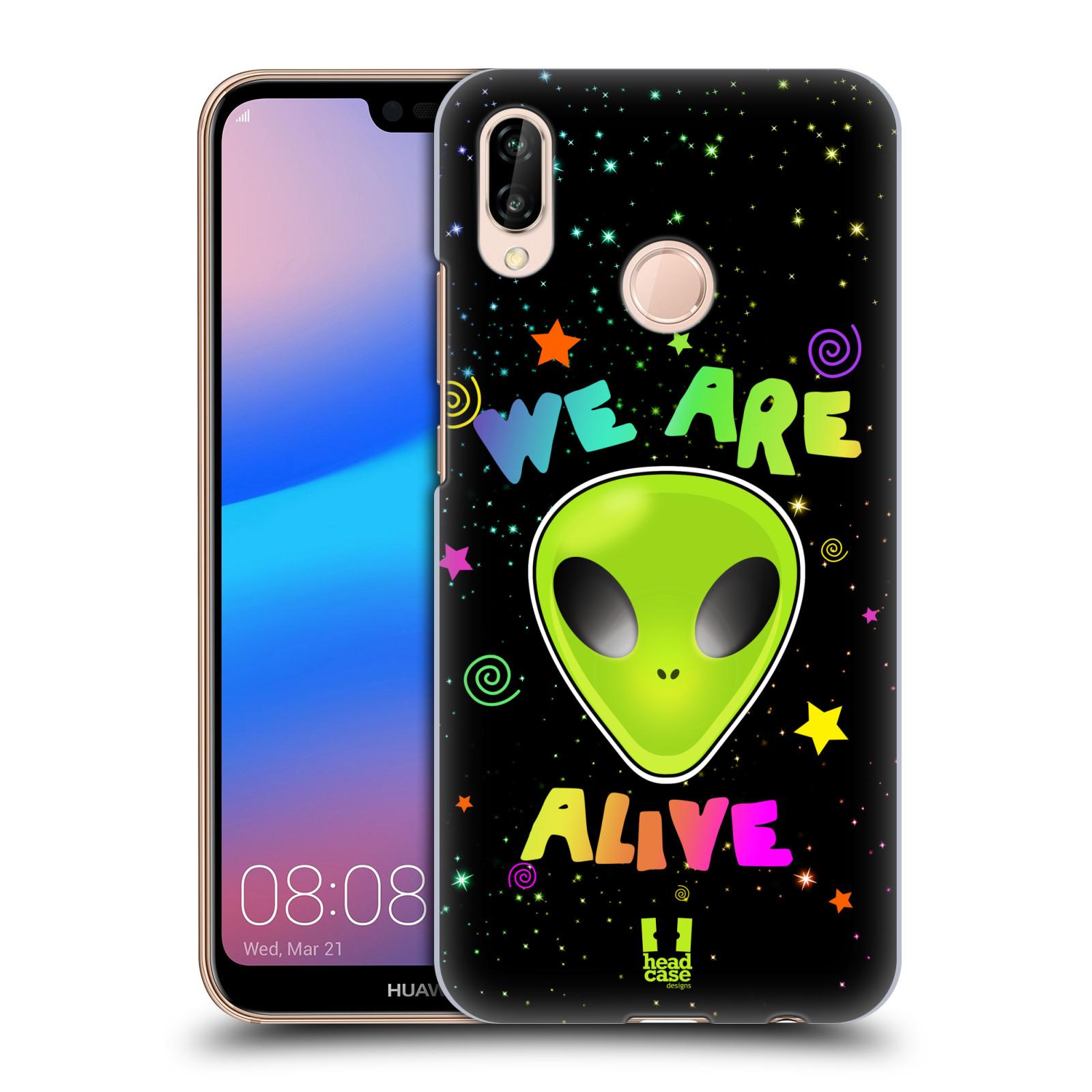 Plastové pouzdro na mobil Huawei P20 Lite - Head Case - ALIENS ALIVE