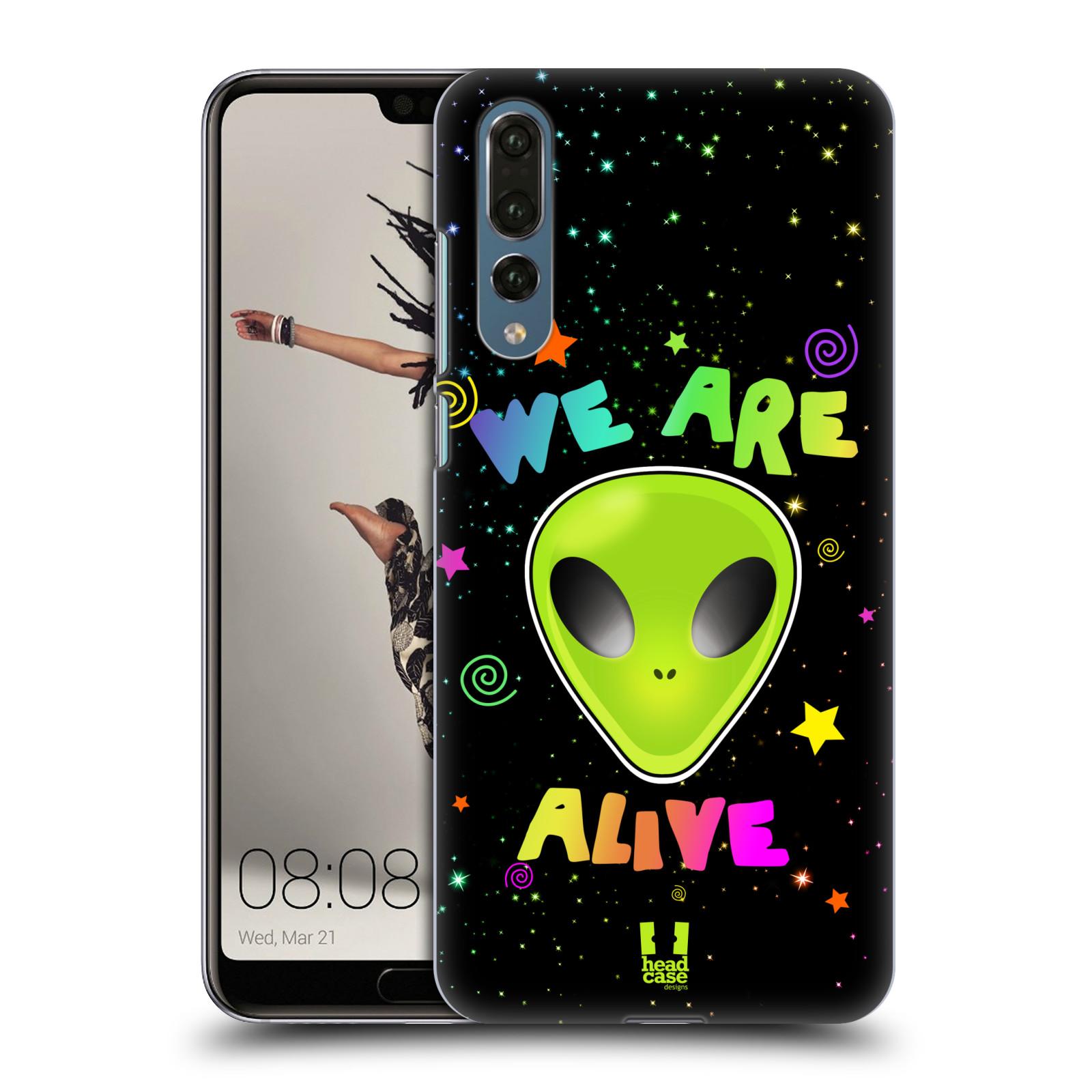 Plastové pouzdro na mobil Huawei P20 Pro - Head Case - ALIENS ALIVE
