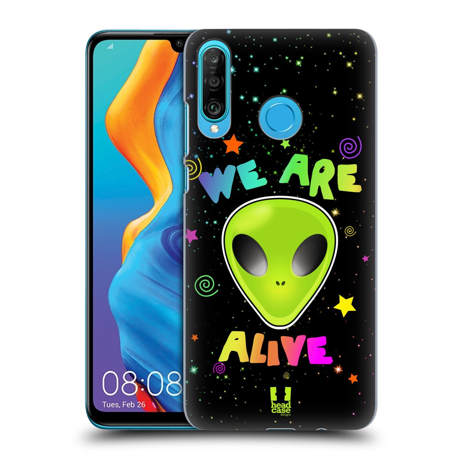 Plastové pouzdro na mobil Huawei P30 Lite - Head Case - ALIENS ALIVE