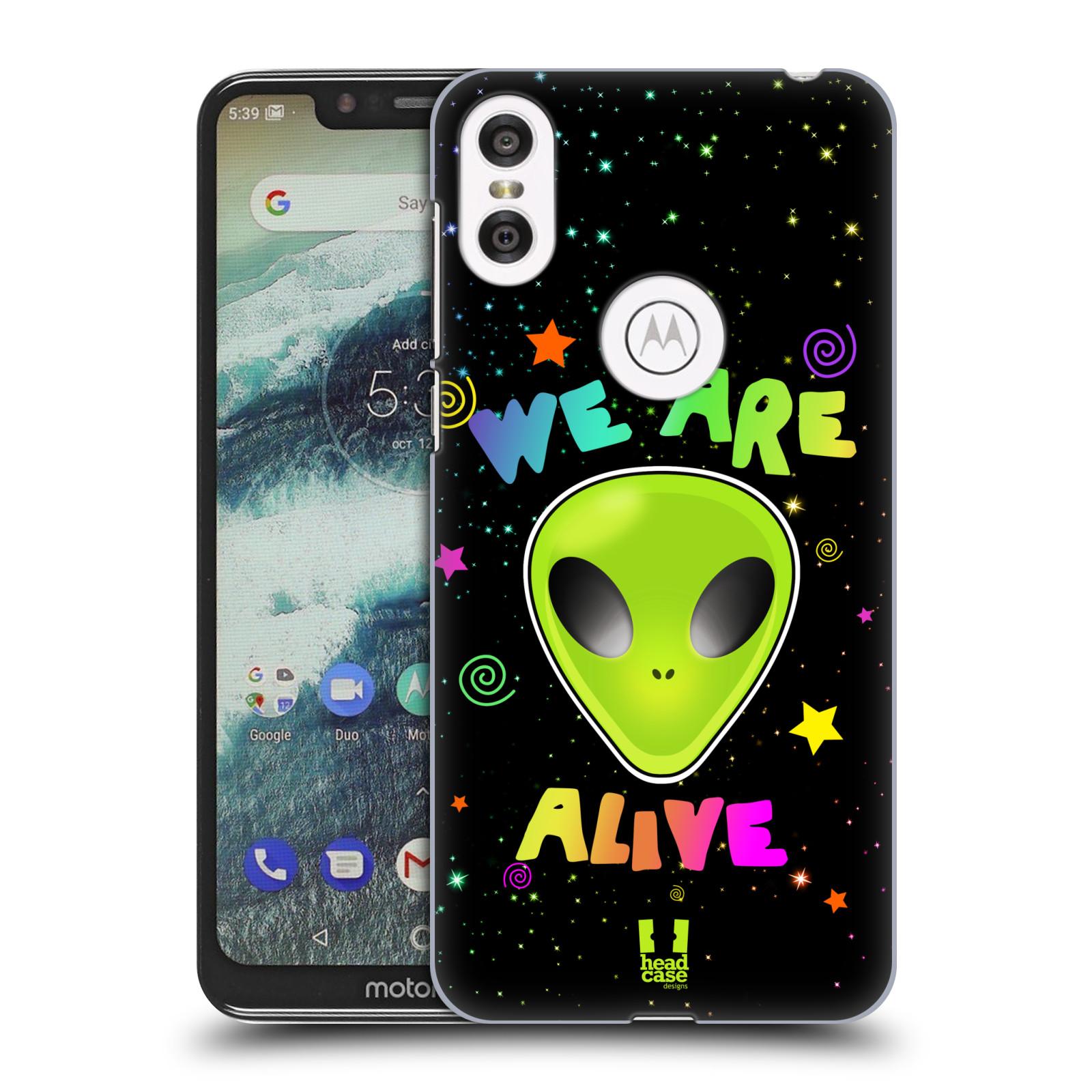 Plastové pouzdro na mobil Motorola One - Head Case - ALIENS ALIVE