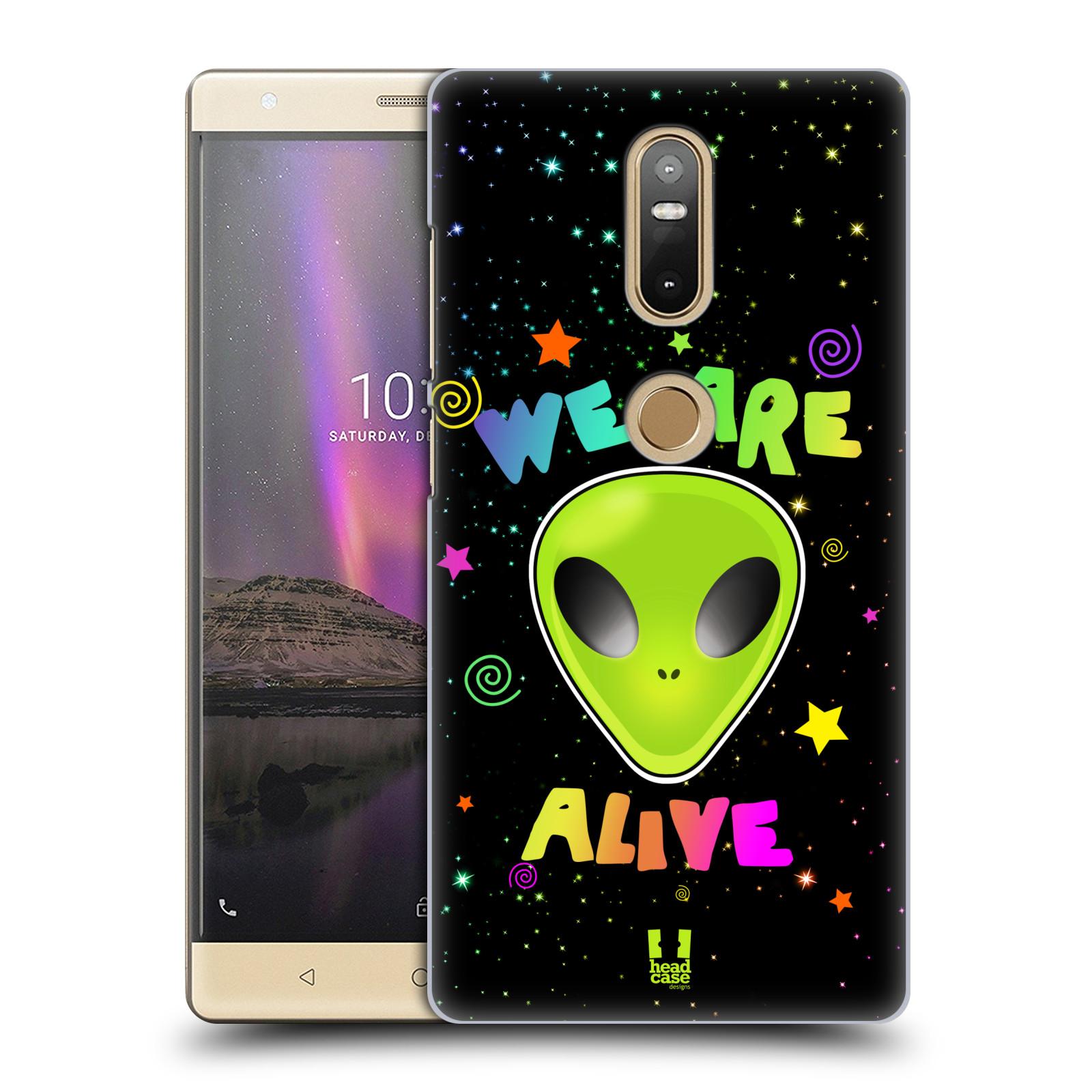 Plastové pouzdro na mobil Lenovo Phab 2 Plus - Head Case - ALIENS ALIVE