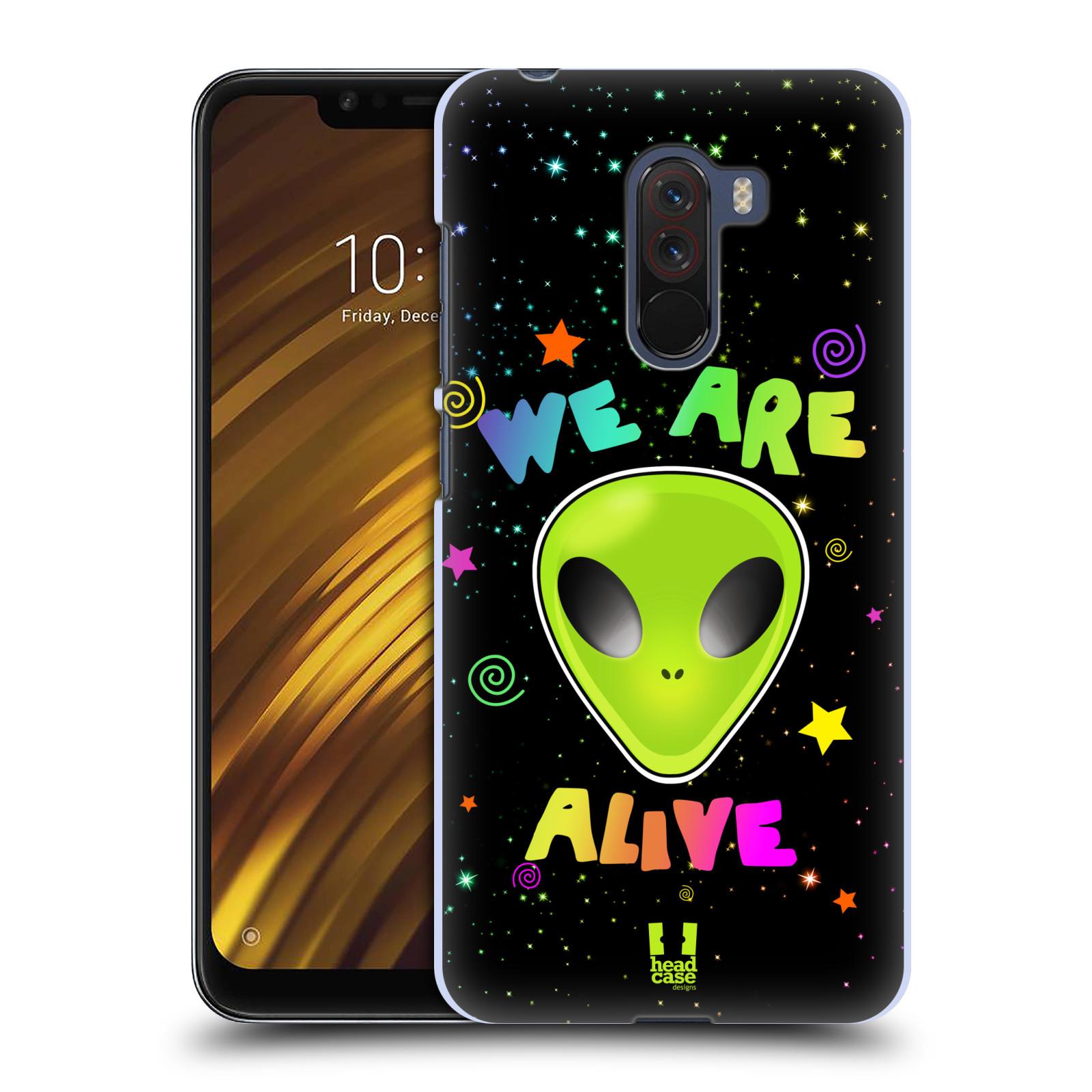 Plastové pouzdro na mobil Xiaomi Pocophone F1 - Head Case - ALIENS ALIVE