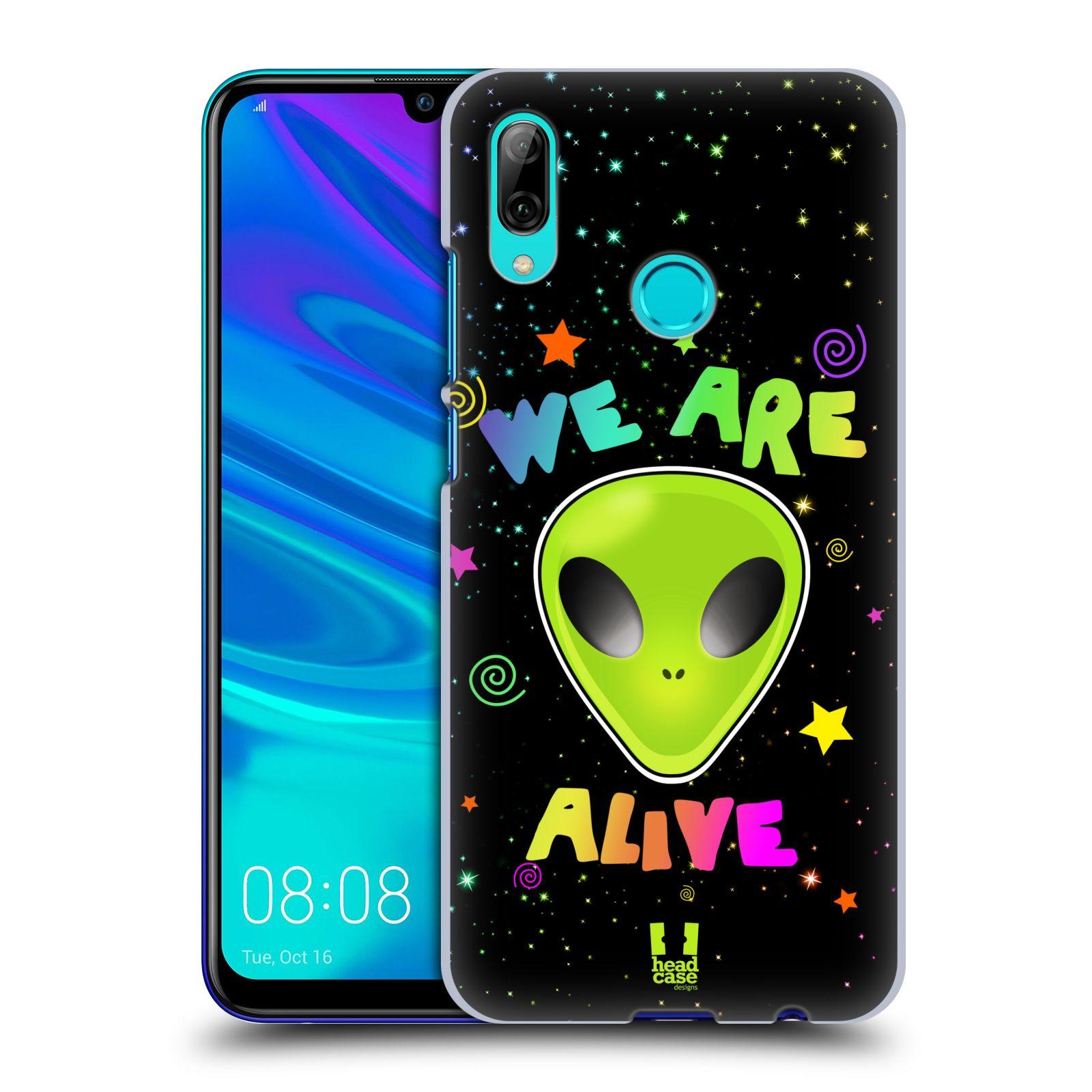 Plastové pouzdro na mobil Huawei P Smart (2019) - Head Case - ALIENS ALIVE