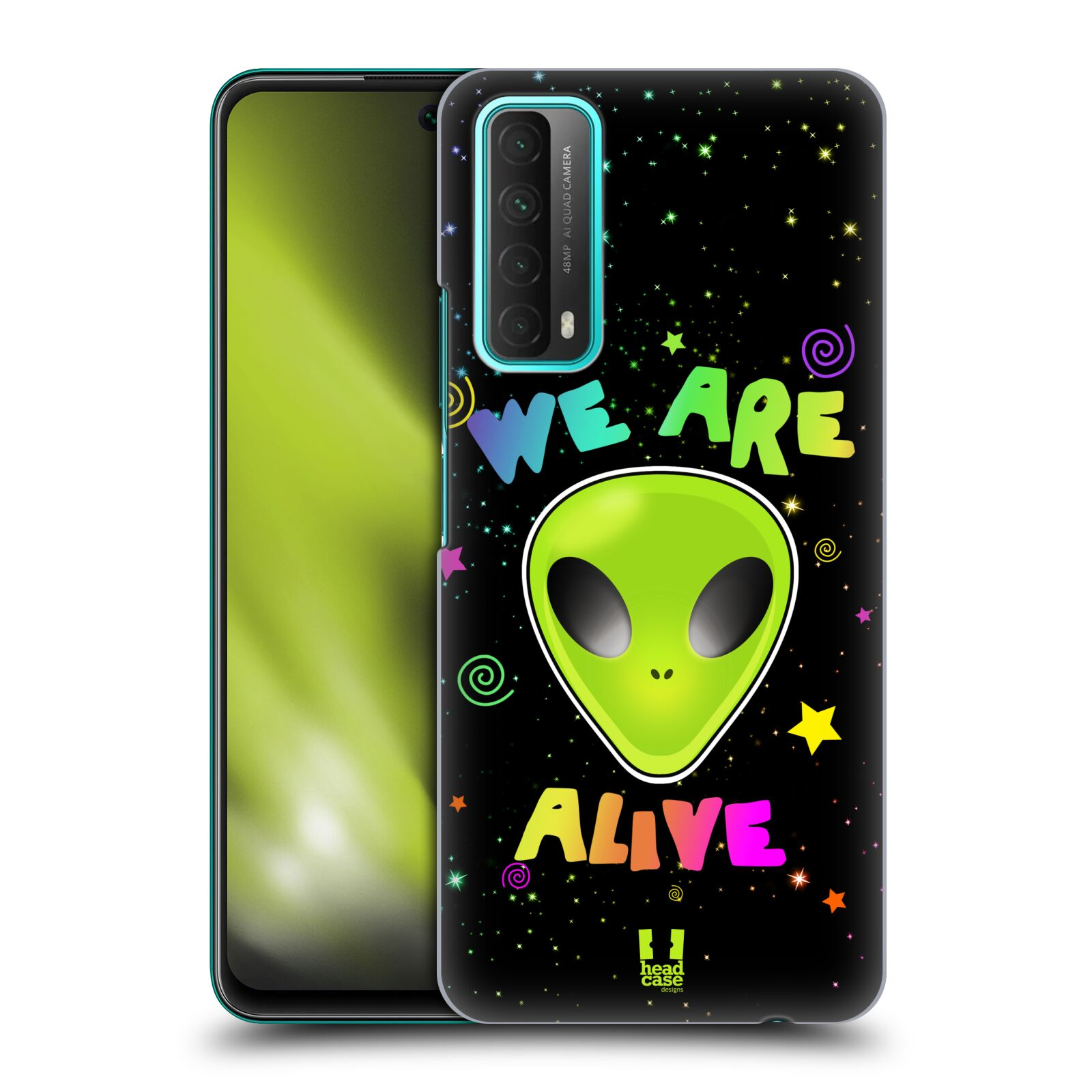 Plastové pouzdro na mobil Huawei P Smart (2021) - Head Case - ALIENS ALIVE
