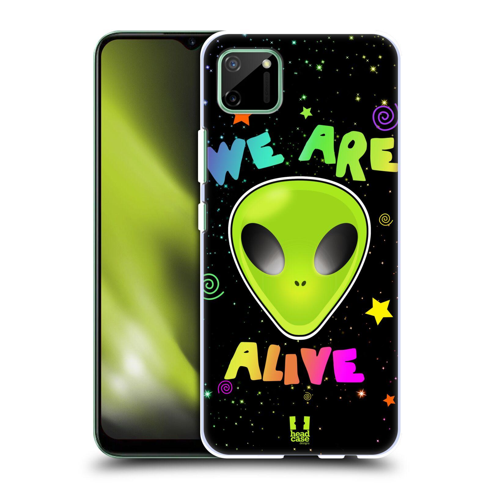 Plastové pouzdro na mobil Realme C11 - Head Case - ALIENS ALIVE