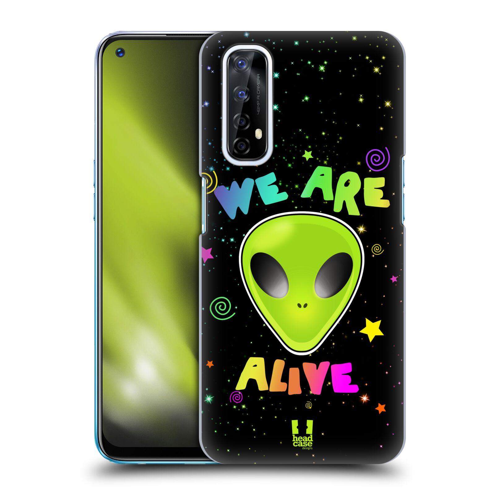 Plastové pouzdro na mobil Realme 7 - Head Case - ALIENS ALIVE