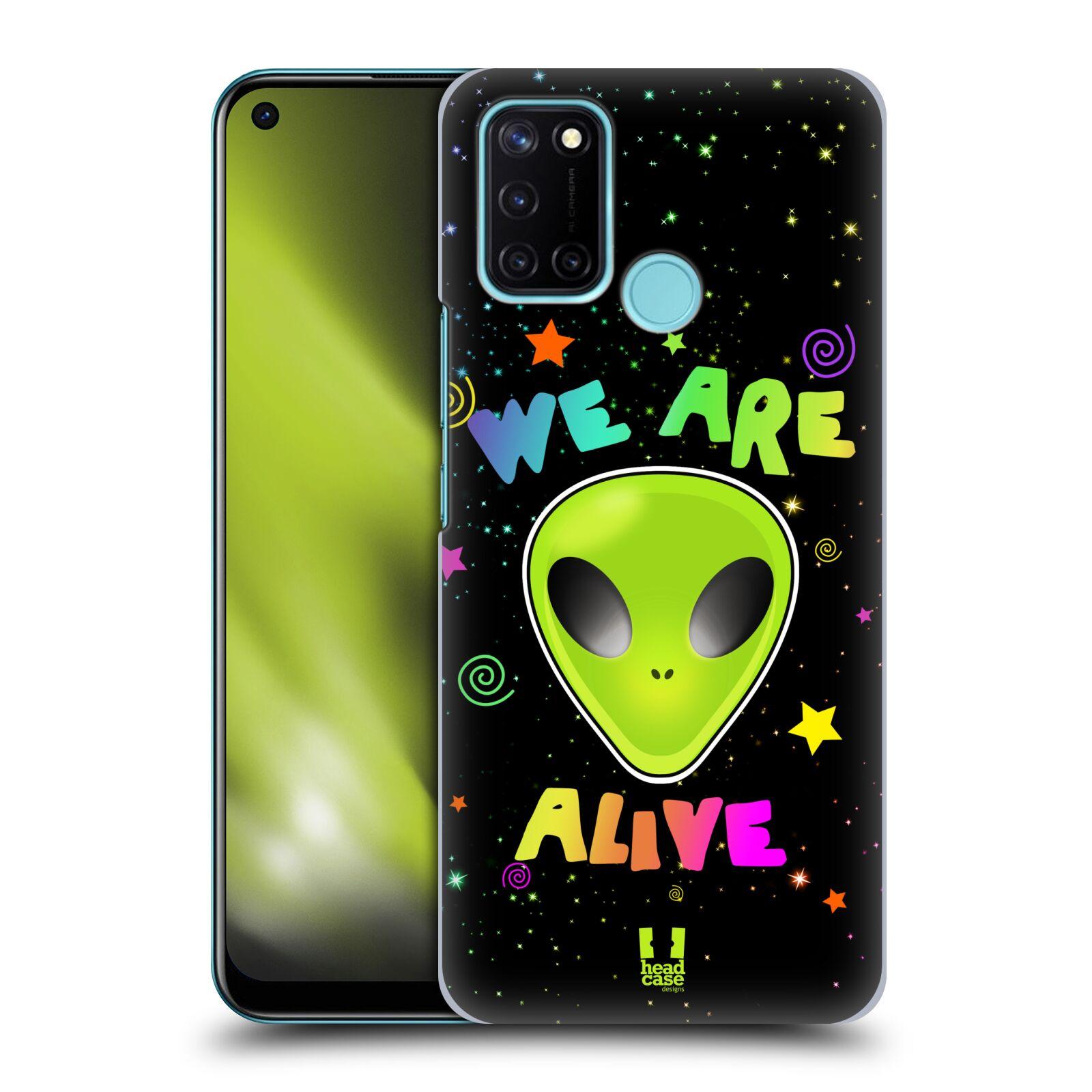 Plastové pouzdro na mobil Realme 7i - Head Case - ALIENS ALIVE
