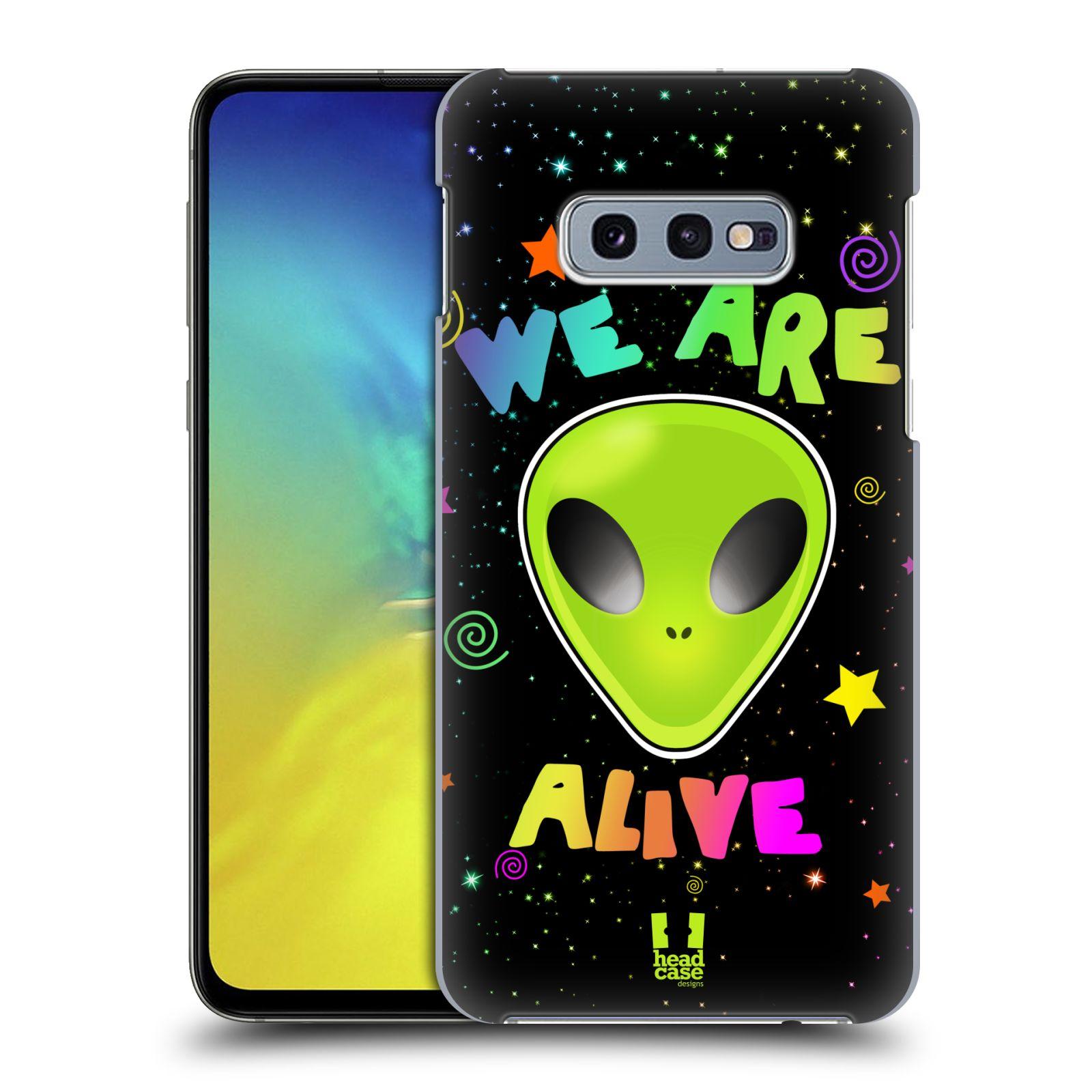 Plastové pouzdro na mobil Samsung Galaxy S10e - Head Case - ALIENS ALIVE