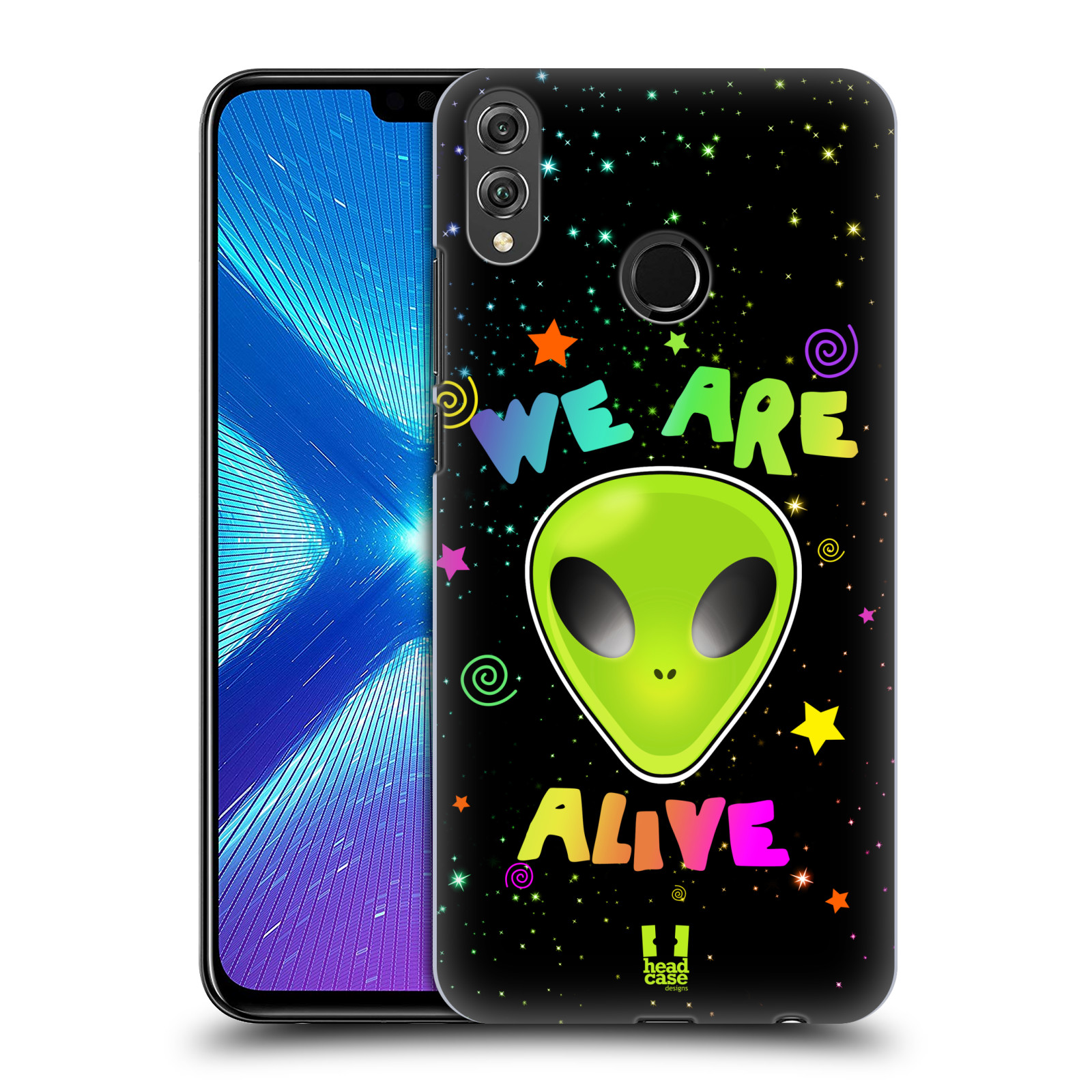 Plastové pouzdro na mobil Honor 8X - Head Case - ALIENS ALIVE