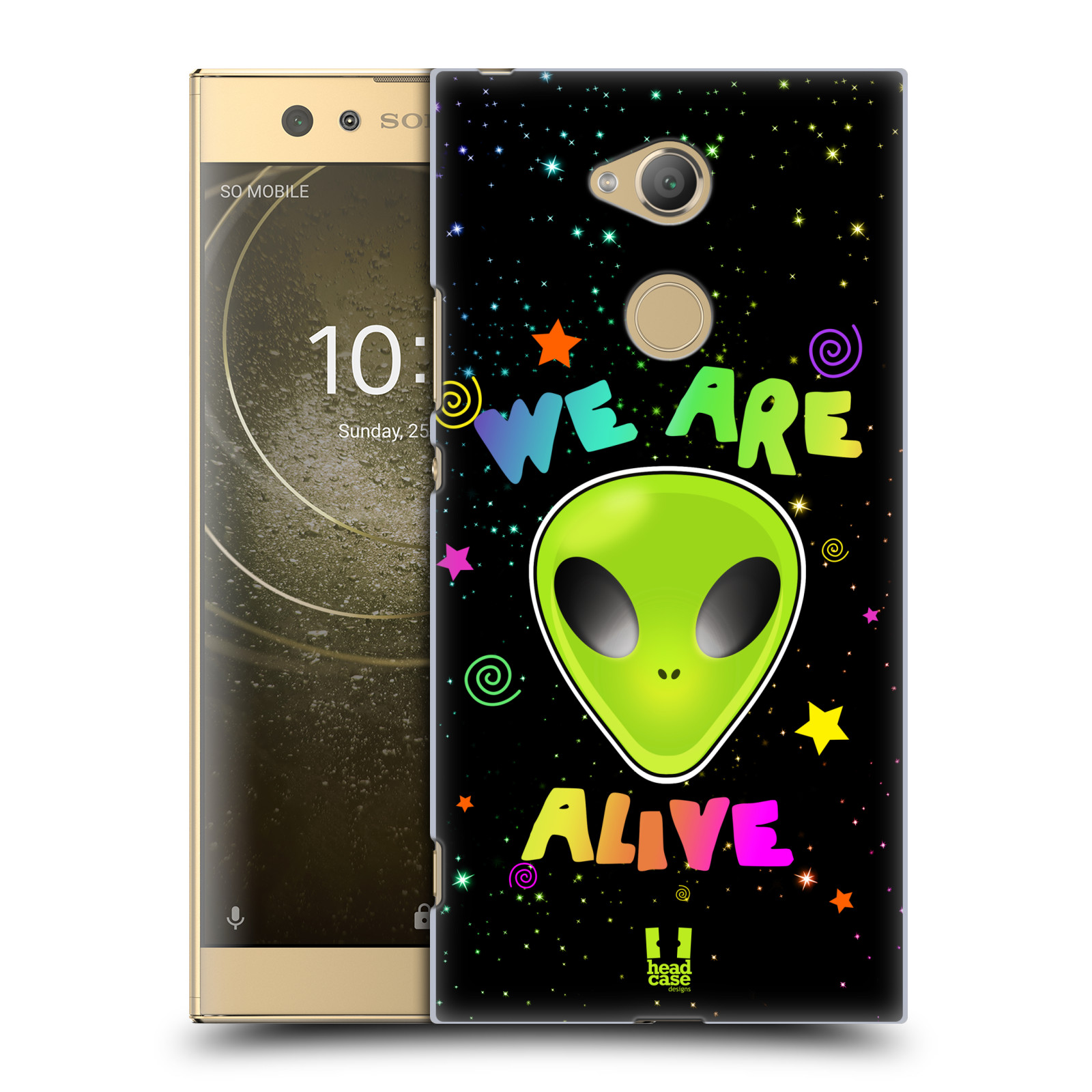 Plastové pouzdro na mobil Sony Xperia XA2 Ultra - Head Case - ALIENS ALIVE