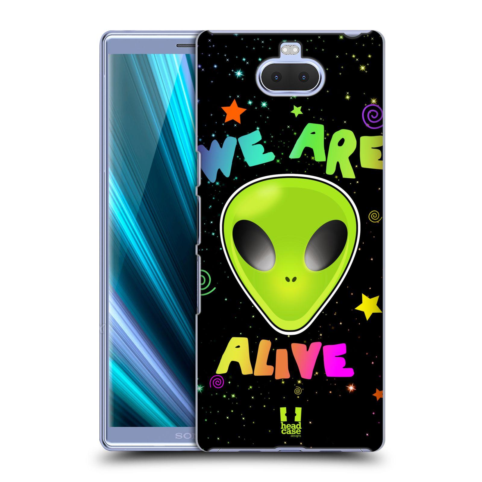 Plastové pouzdro na mobil Sony Xperia 10 - Head Case - ALIENS ALIVE
