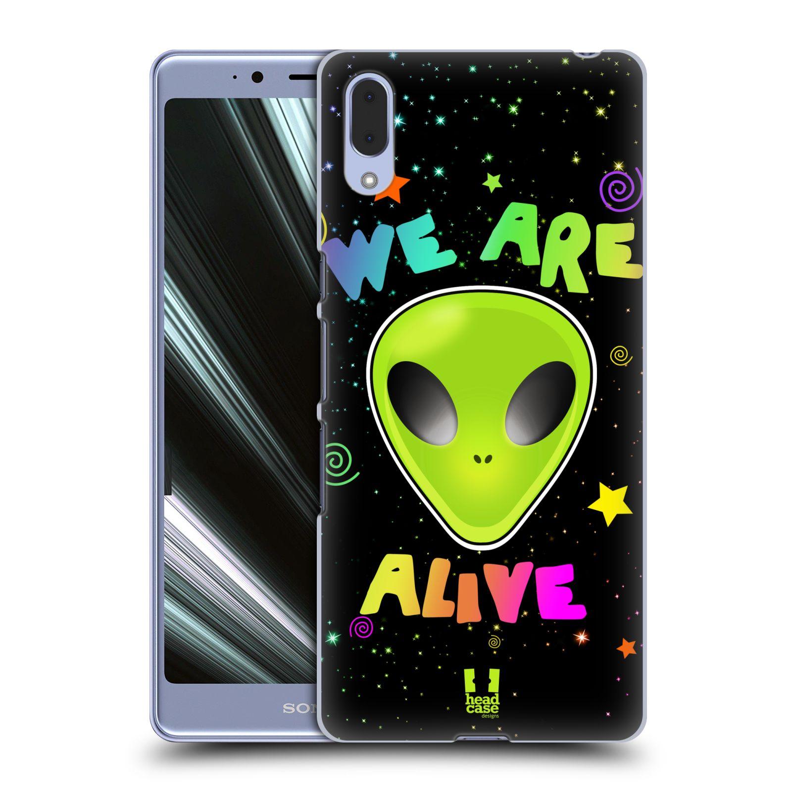 Plastové pouzdro na mobil Sony Xperia L3 - Head Case - ALIENS ALIVE
