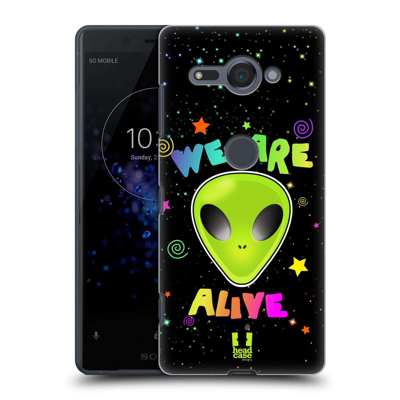 Plastové pouzdro na mobil Sony Xperia XZ2 Compact - Head Case - ALIENS ALIVE