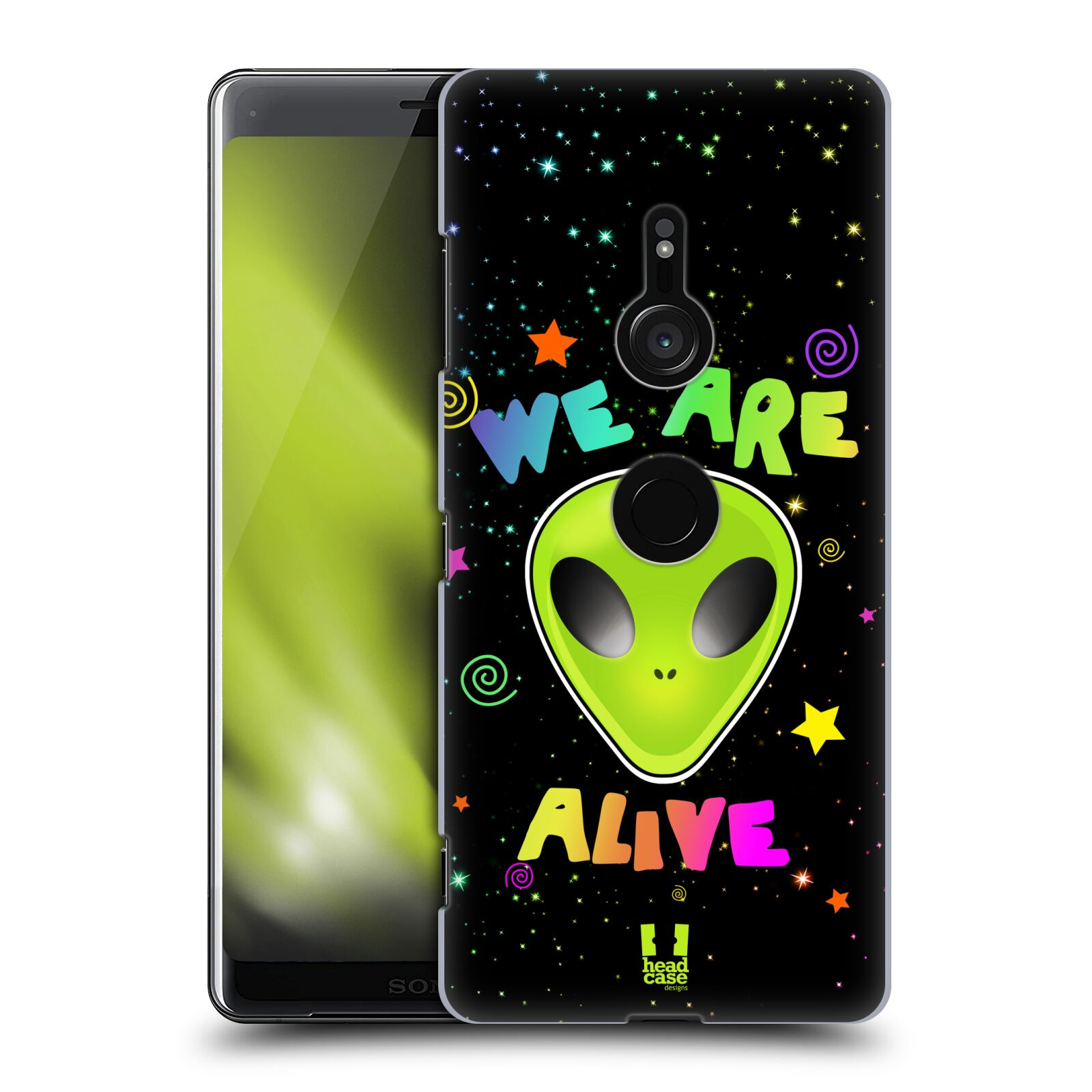 Plastové pouzdro na mobil Sony Xperia XZ3 - Head Case - ALIENS ALIVE