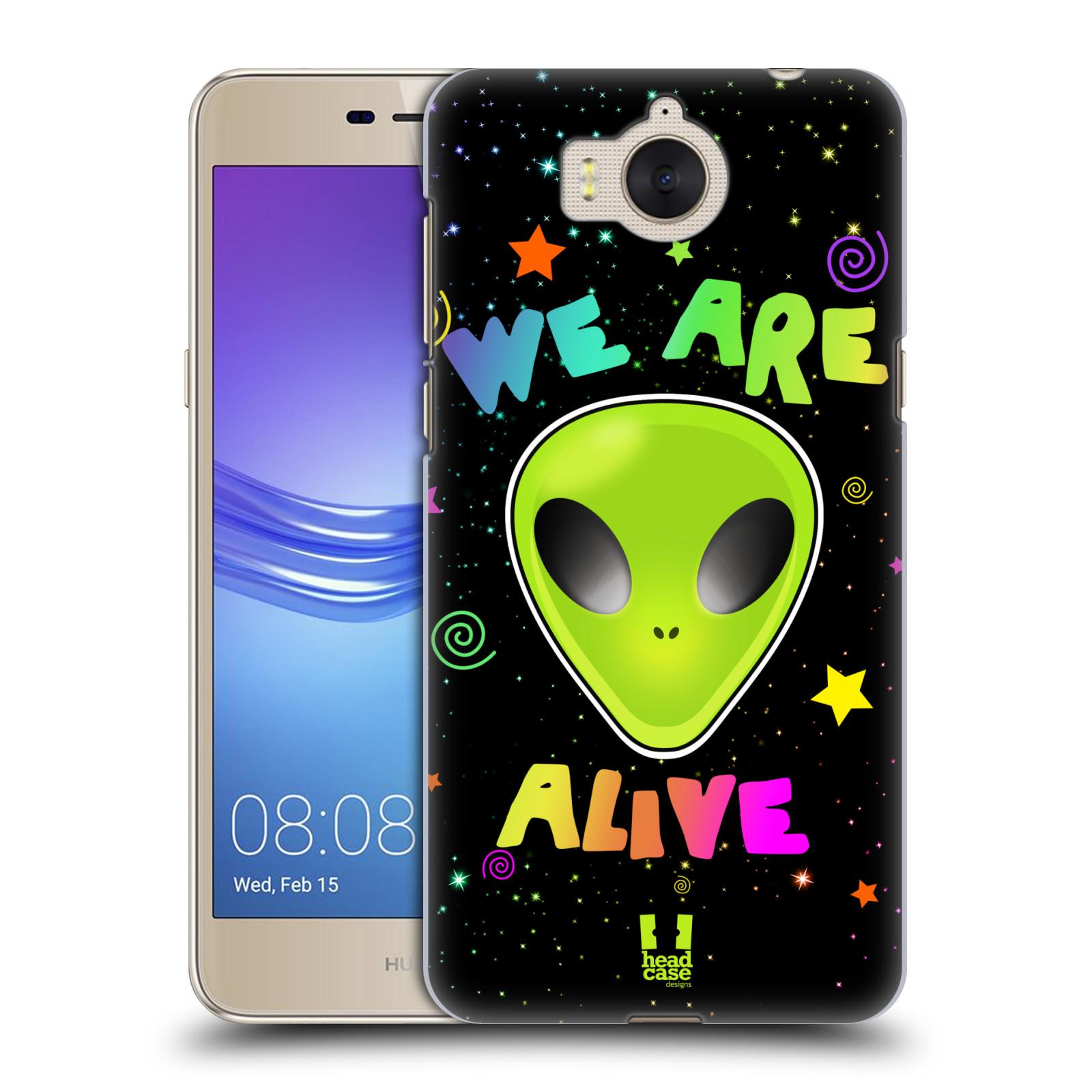 Plastové pouzdro na mobil Huawei Y6 2017 - Head Case - ALIENS ALIVE
