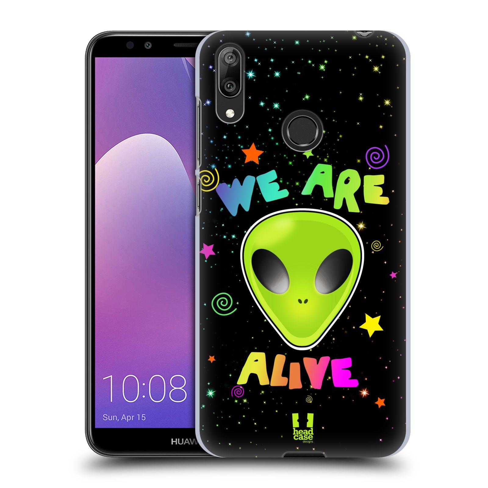 Plastové pouzdro na mobil Huawei Y7 (2019) - Head Case - ALIENS ALIVE