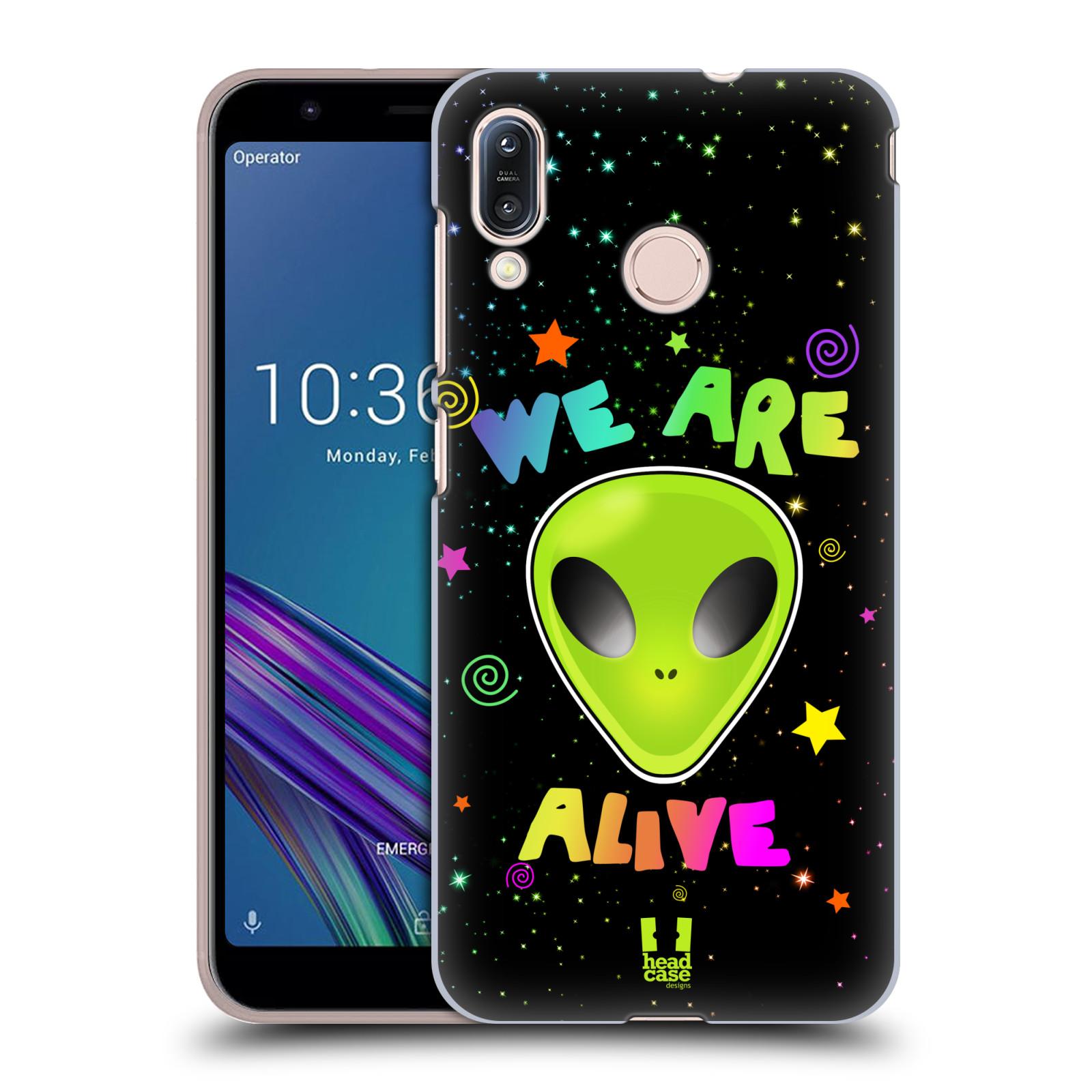 Plastové pouzdro na mobil Asus Zenfone Max M1 ZB555KL - Head Case - ALIENS ALIVE