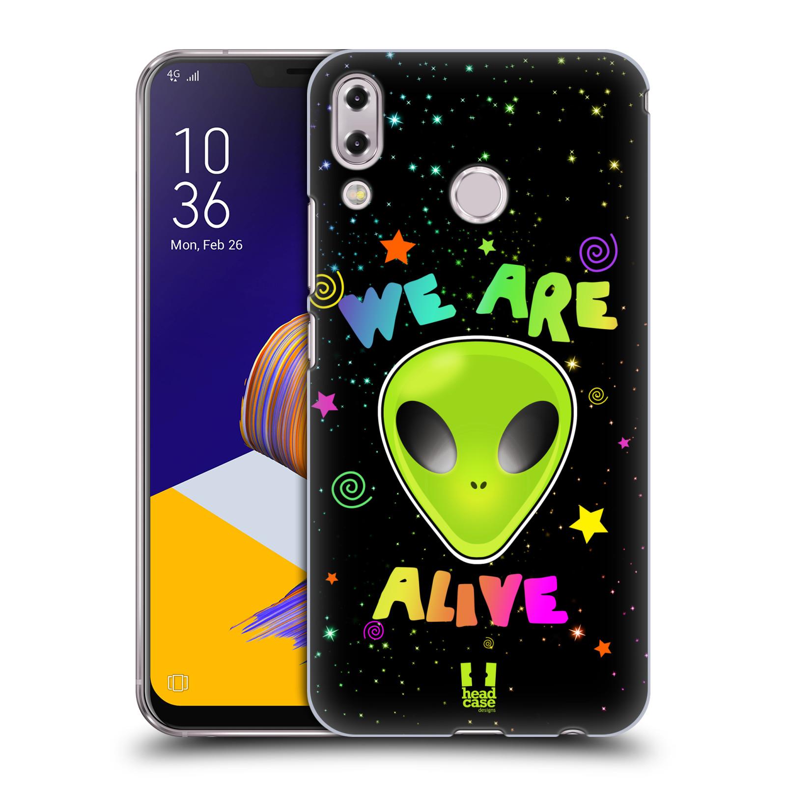 Plastové pouzdro na mobil Asus Zenfone 5z ZS620KL - Head Case - ALIENS ALIVE