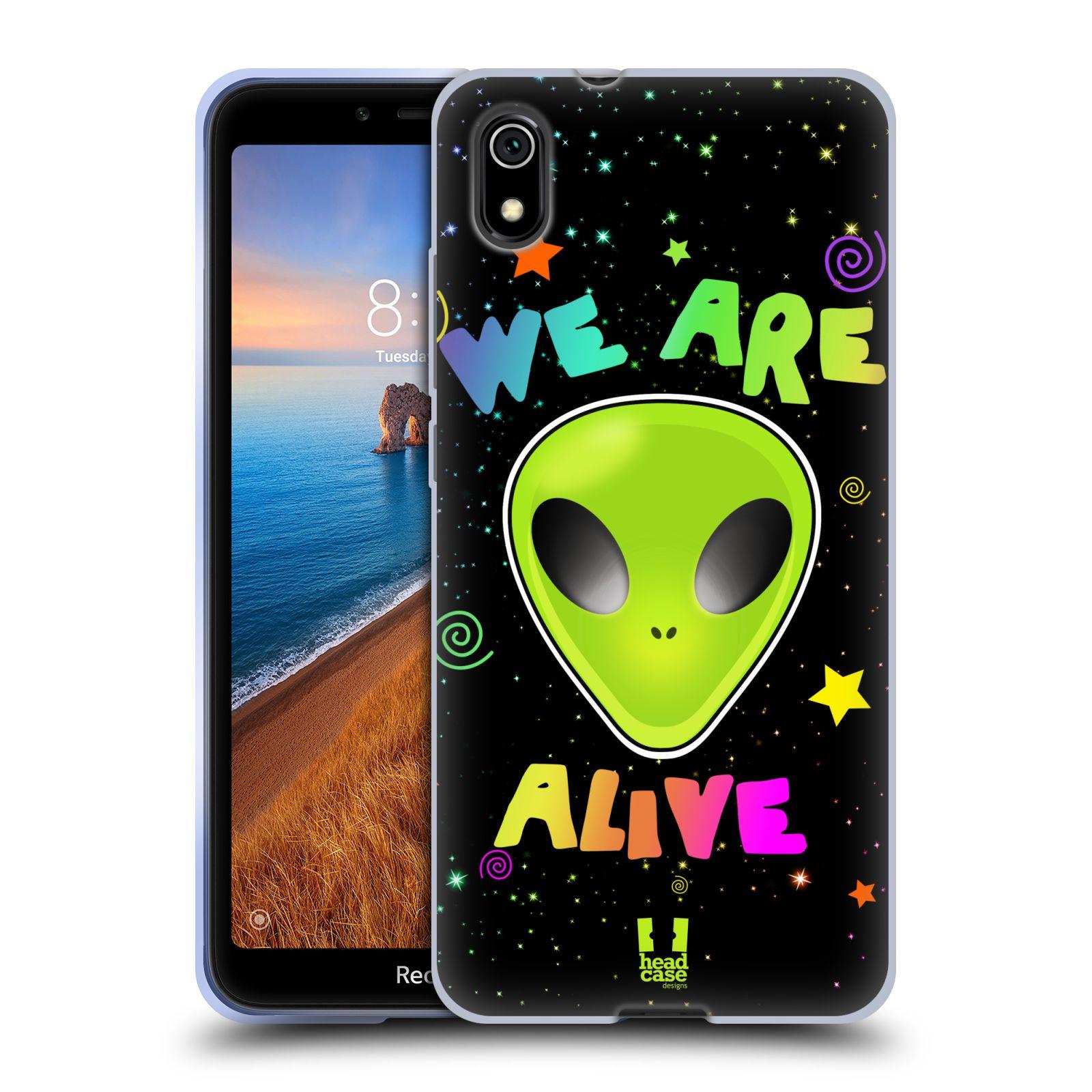 Silikonové pouzdro na mobil Redmi 7A - Head Case - ALIENS ALIVE