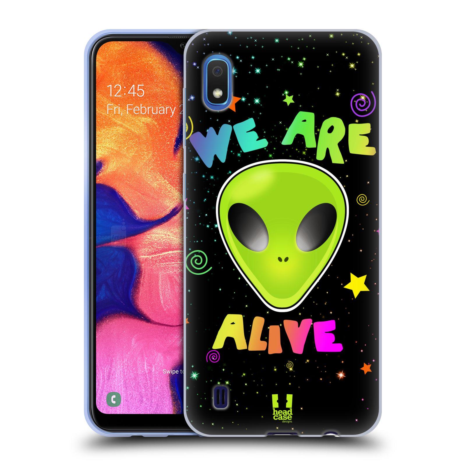 Silikonové pouzdro na mobil Samsung Galaxy A10 - Head Case - ALIENS ALIVE