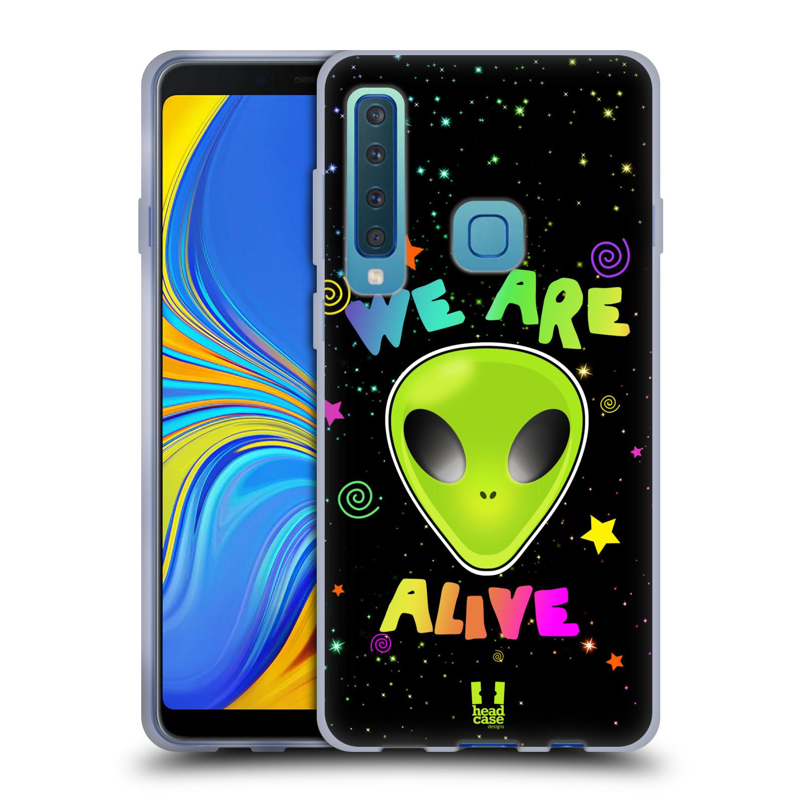 Silikonové pouzdro na mobil Samsung Galaxy A9 (2018) - Head Case - ALIENS ALIVE