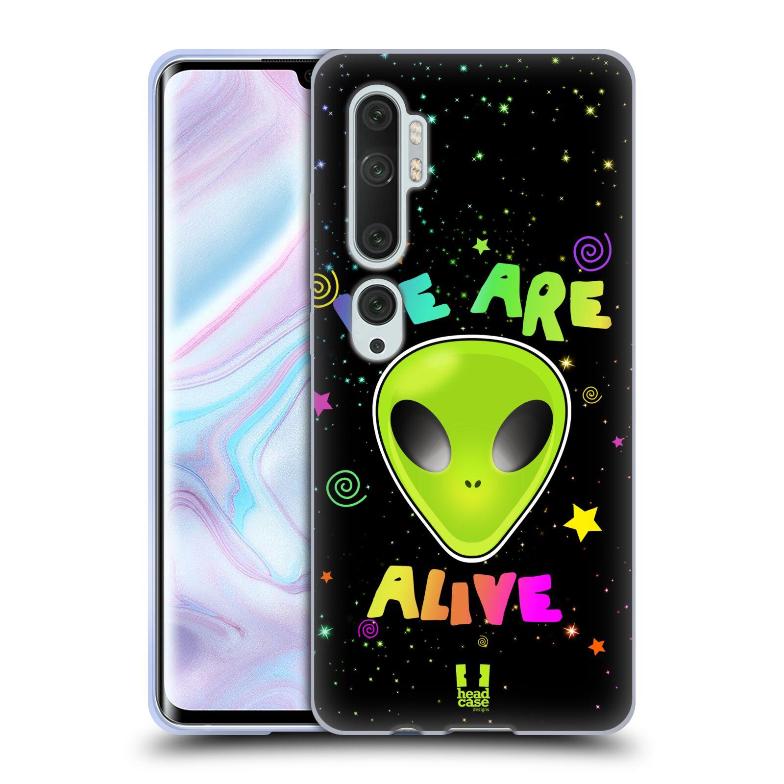Silikonové pouzdro na mobil Xiaomi Mi Note 10 / 10 Pro - Head Case - ALIENS ALIVE