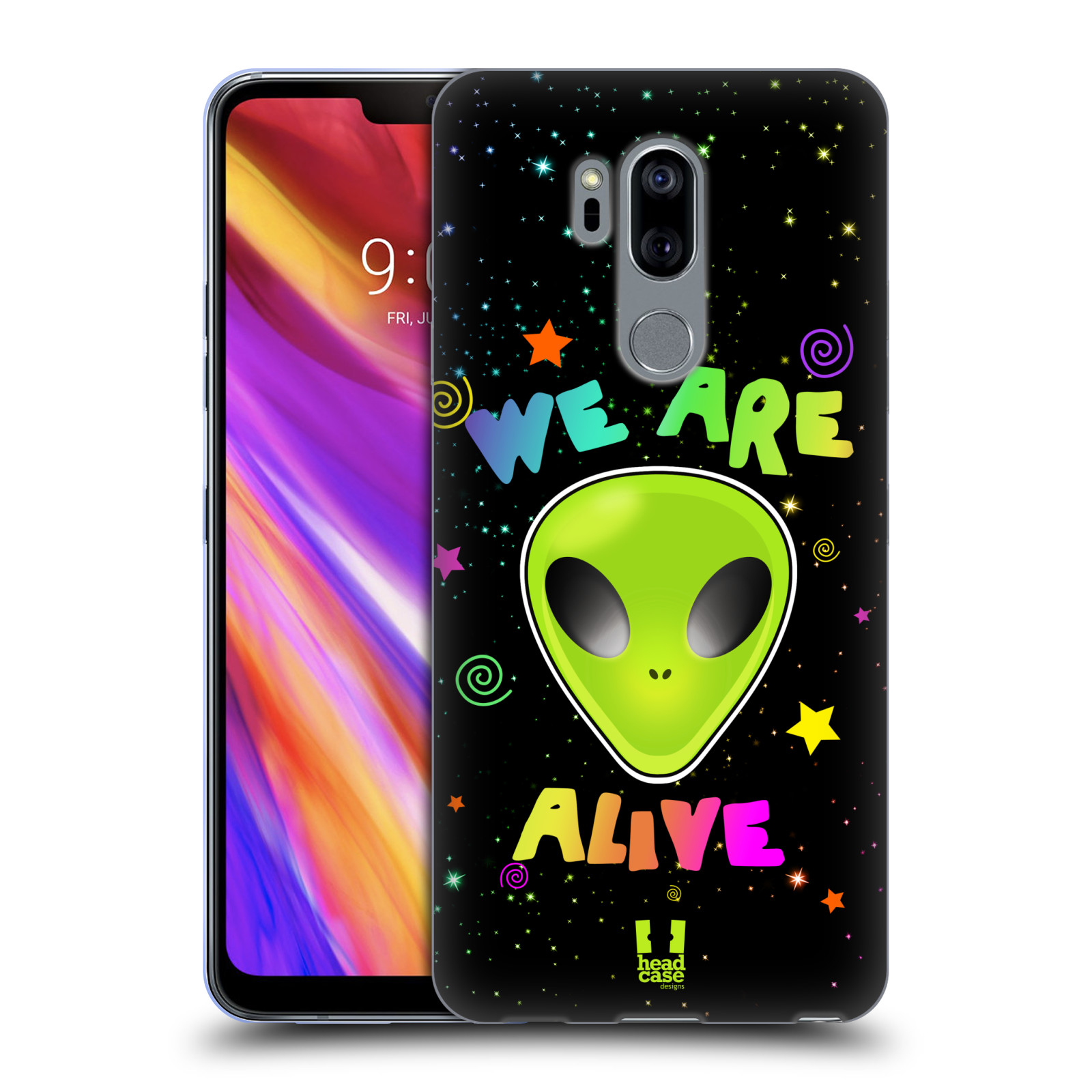 Silikonové pouzdro na mobil LG G7 ThinQ - Head Case - ALIENS ALIVE