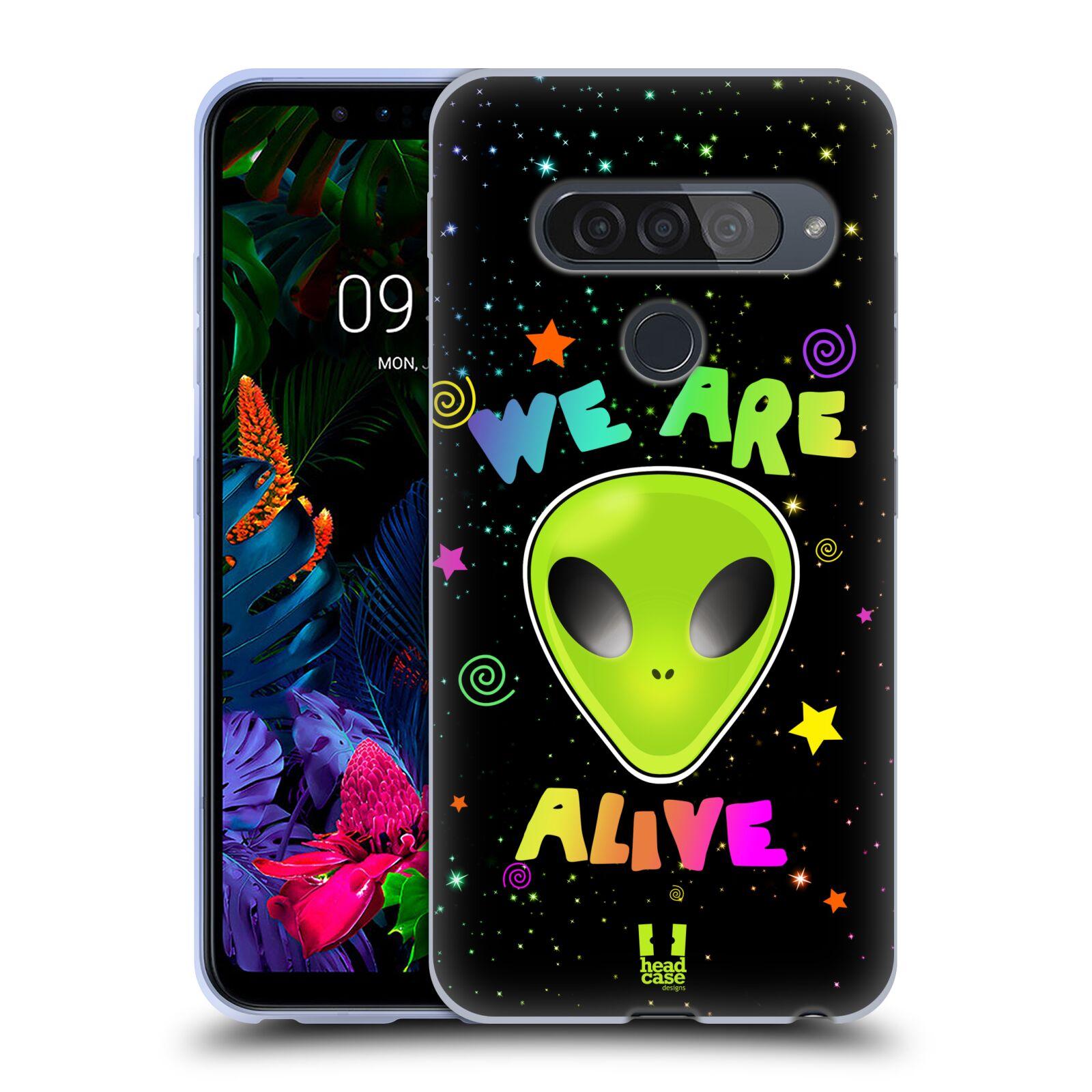 Silikonové pouzdro na mobil LG G8s ThinQ - Head Case - ALIENS ALIVE